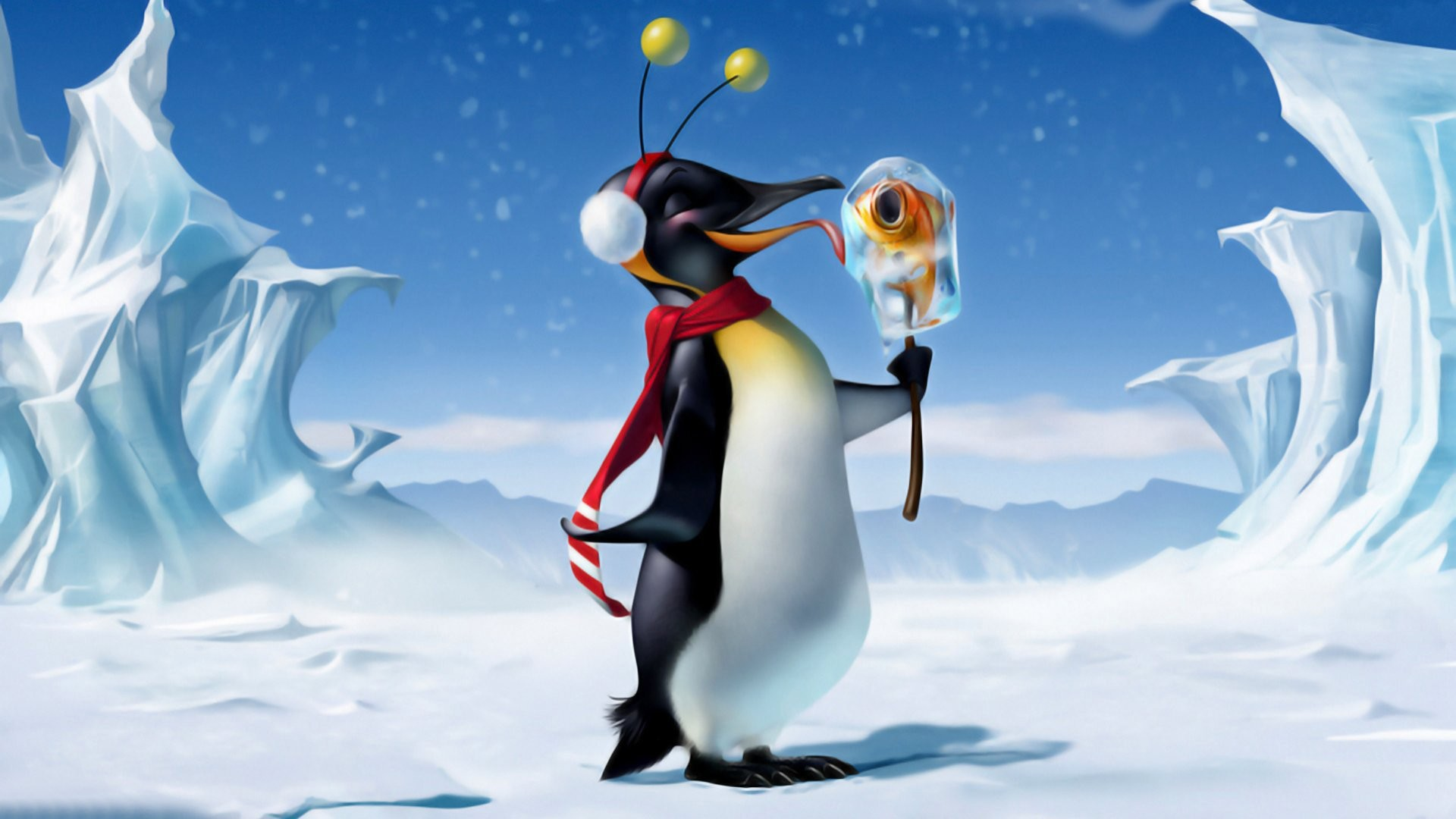 1920x1080 Relaxing 444576. SHARE. TAGS: Penguin Albums Christmas ...