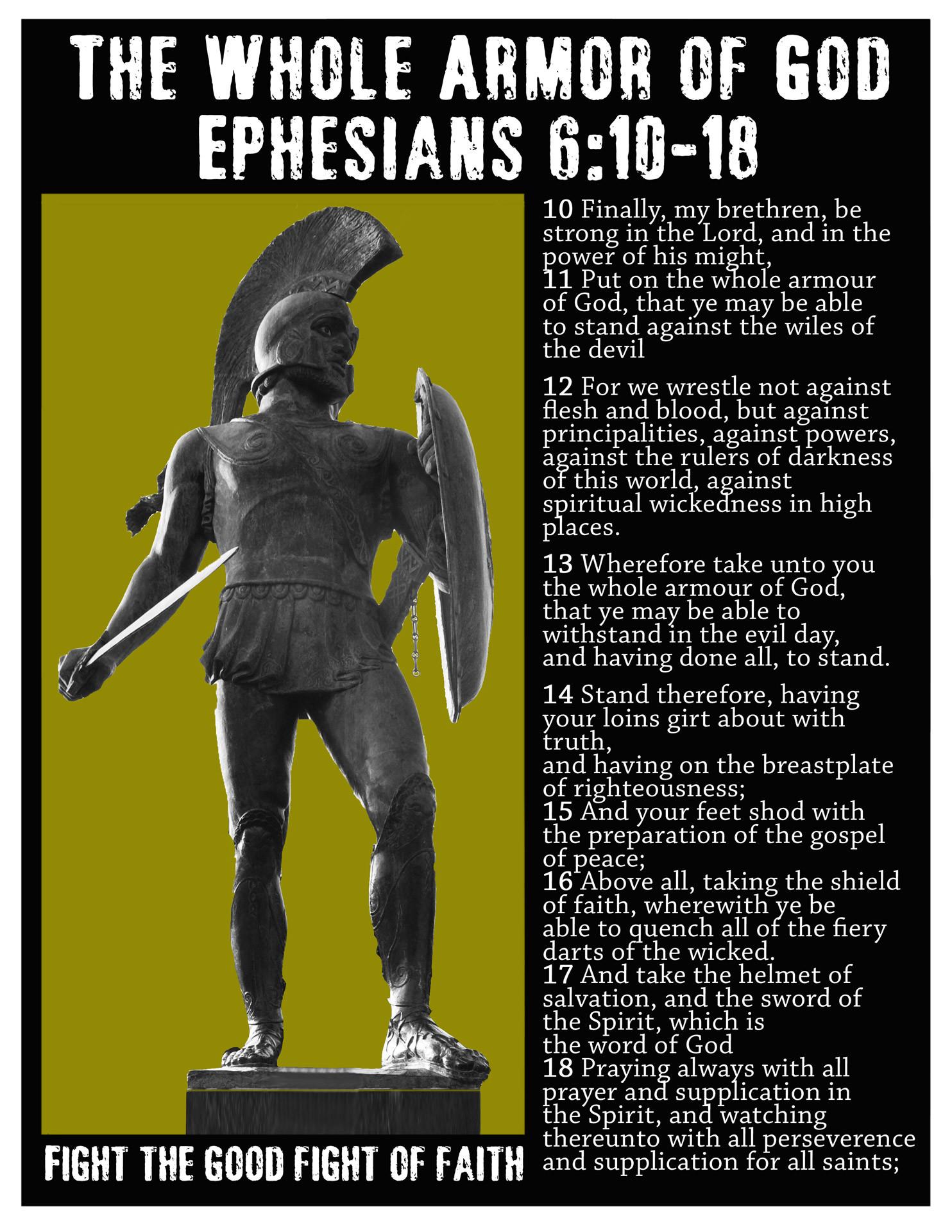 Armor of God Wallpaper (63+ images)