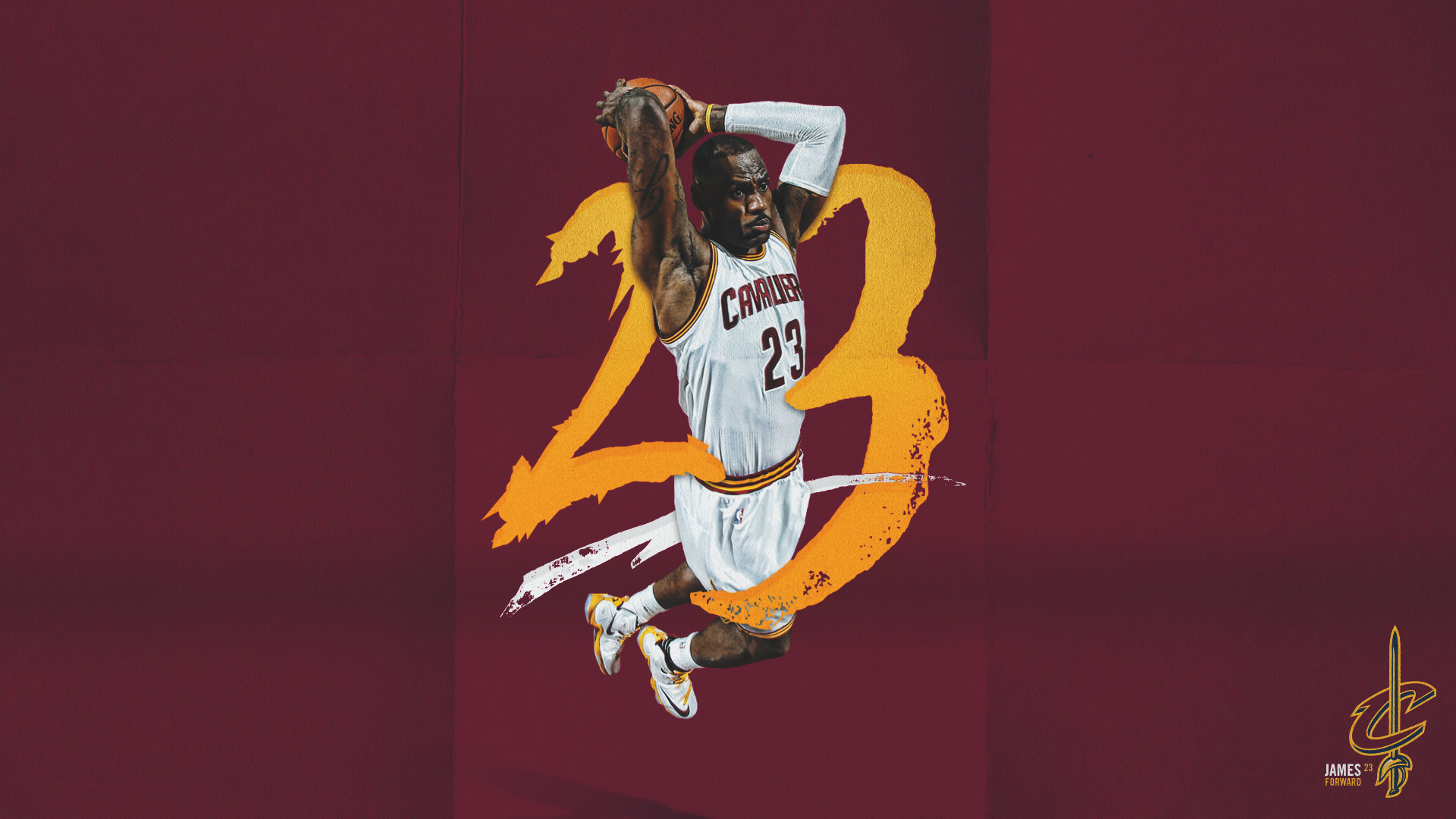 1920x1080 Lebron James Miami Wallpaper