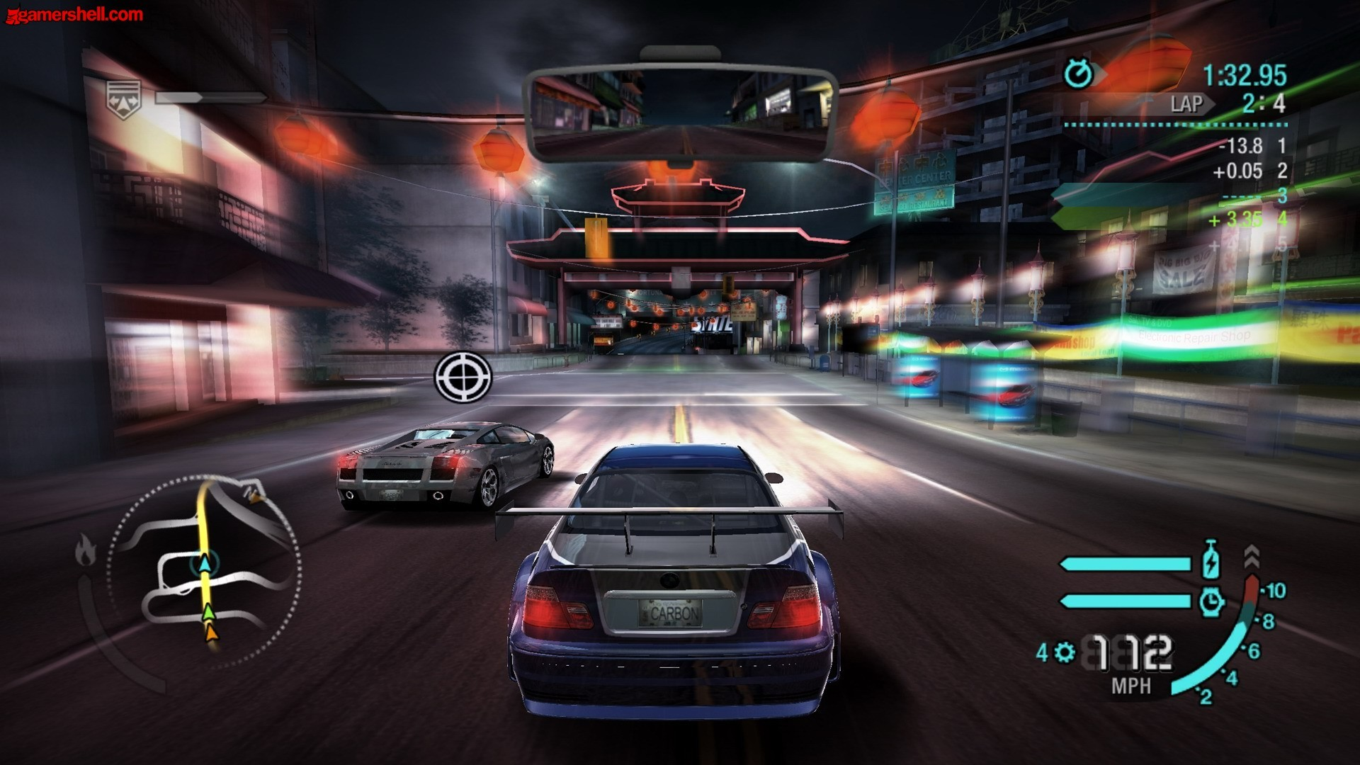 1920x1080 Need for Speed Carbon PS3 Free Download