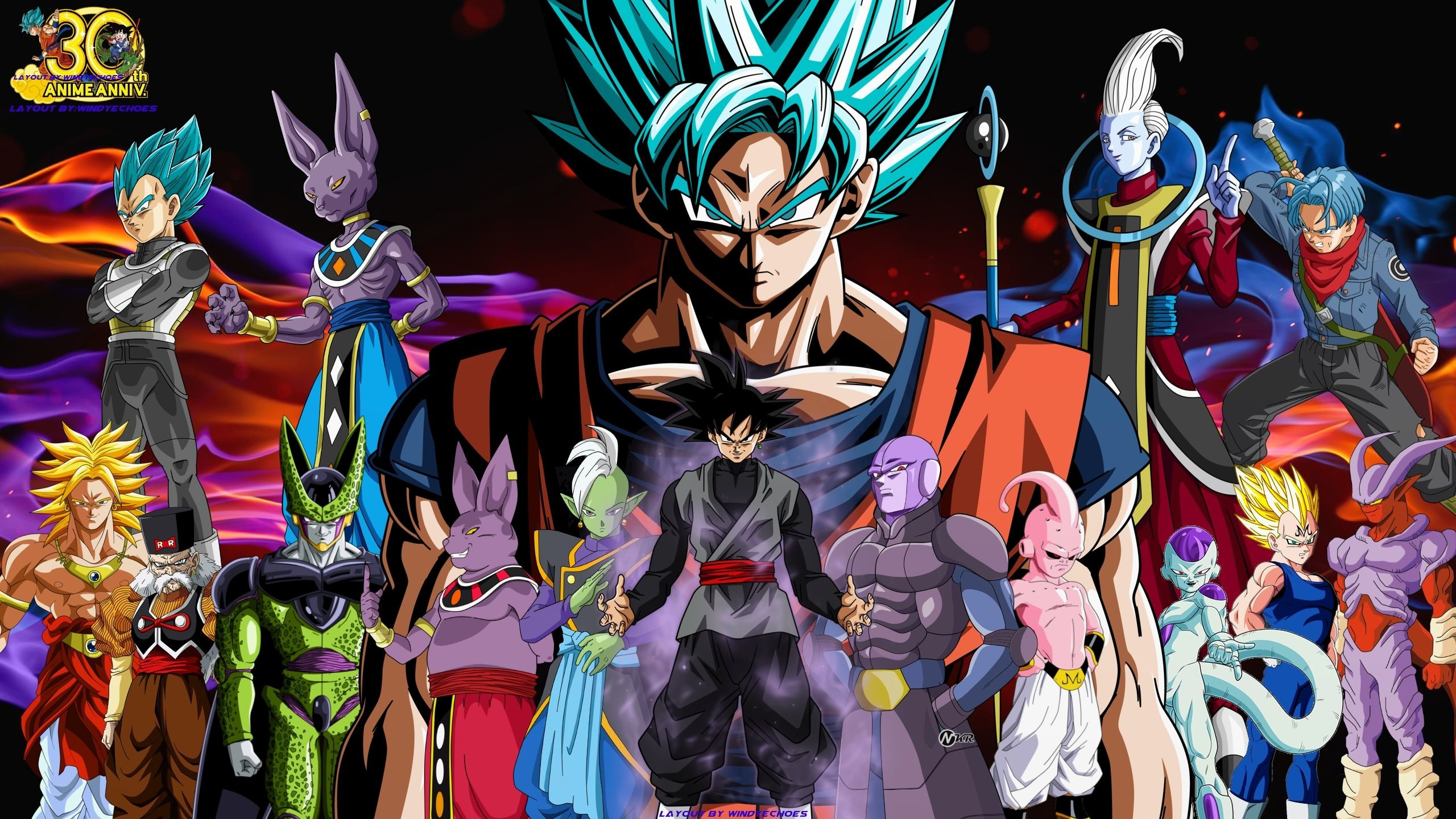 2560x1440 10 Most Popular Dragon Ball Super Wallpaper 2560X1440 FULL HD 1080p For PC  Background
