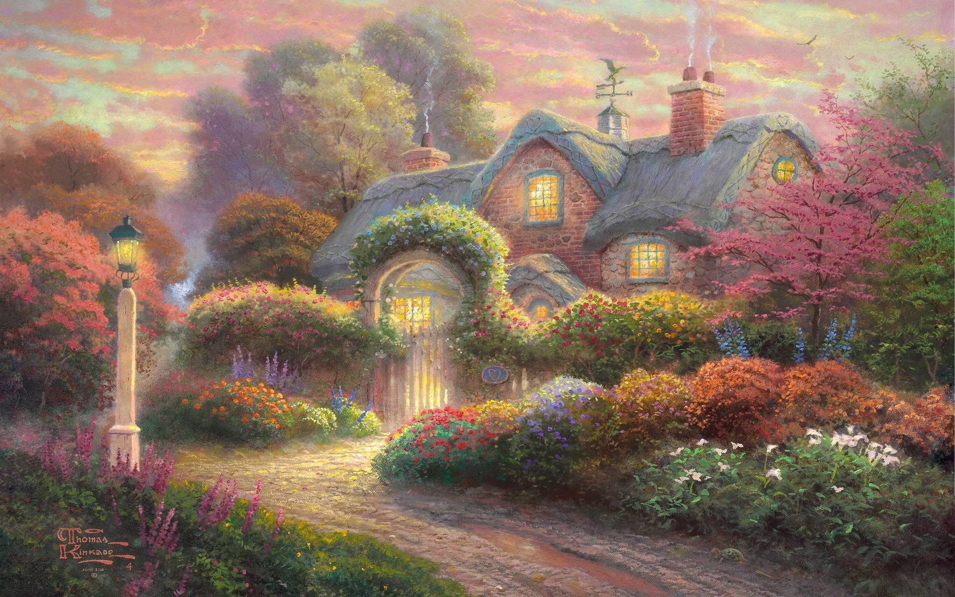 1920x1200 Thomas Kinkade Wallpapers | HD Wallpapers Pictures