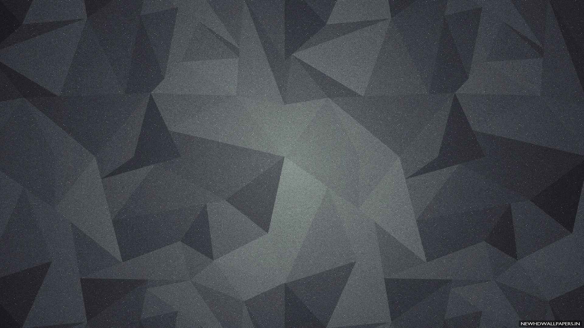 1920x1080 3D geometric abstract shapes dark background .