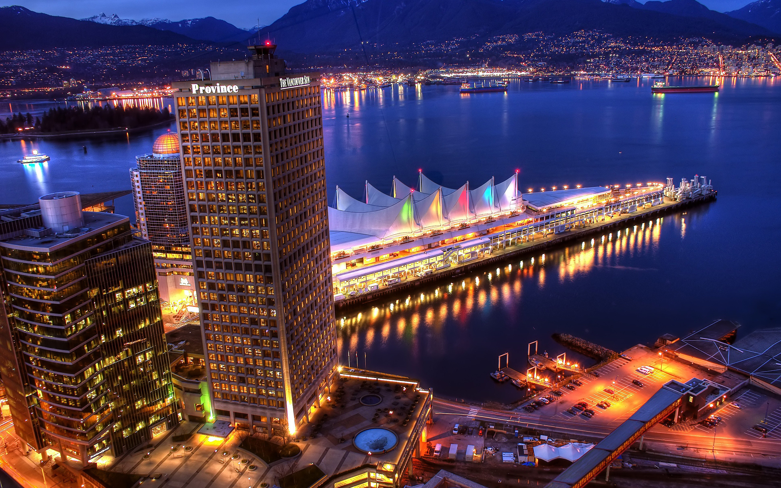 2560x1600 Vancouver Wallpapers HD.