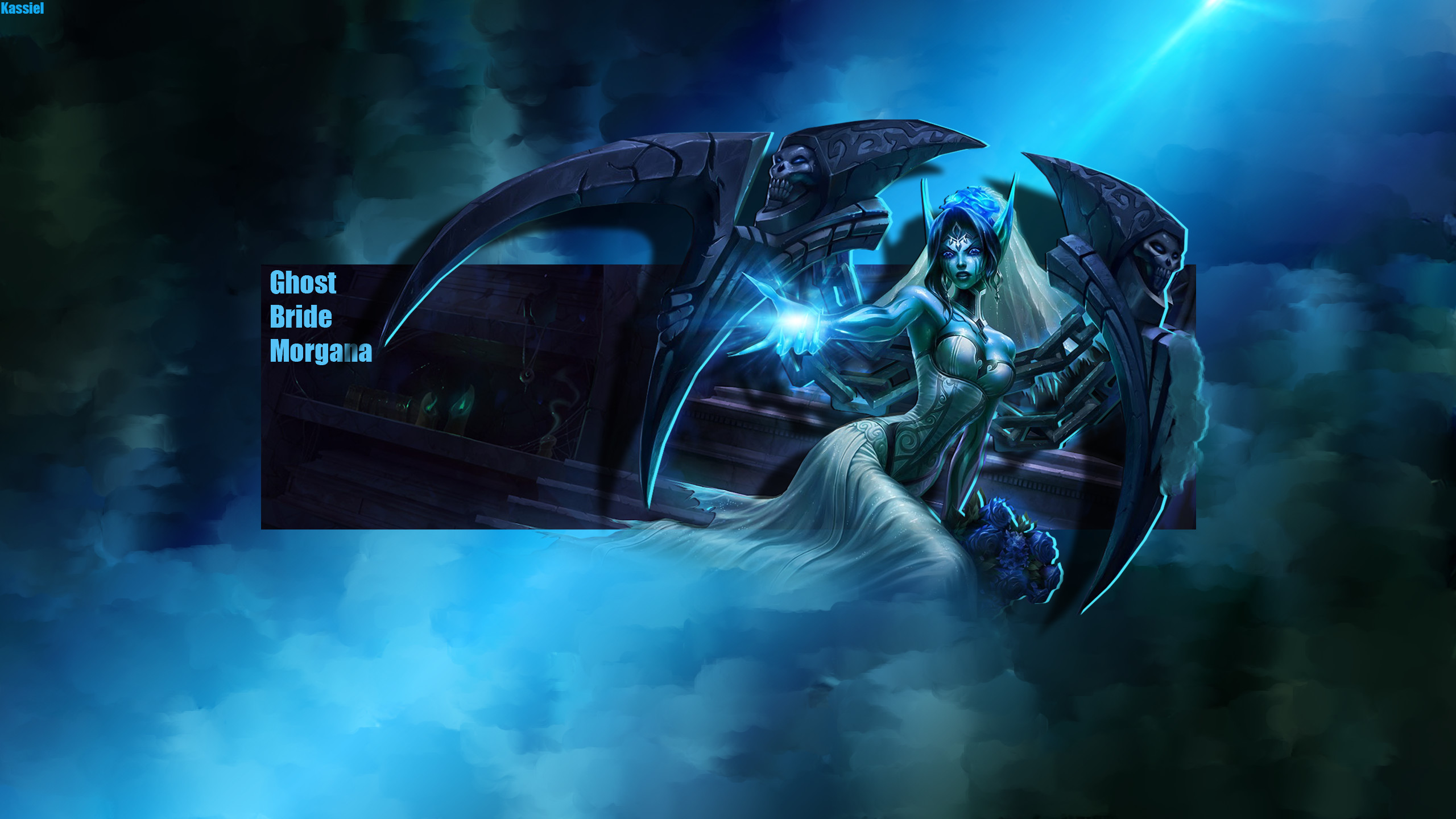 2560x1440 Ghost Bride Morgana Wallpaper - Morgana Noiva Fantasma Wallpaper. Slayer  Jinx ...