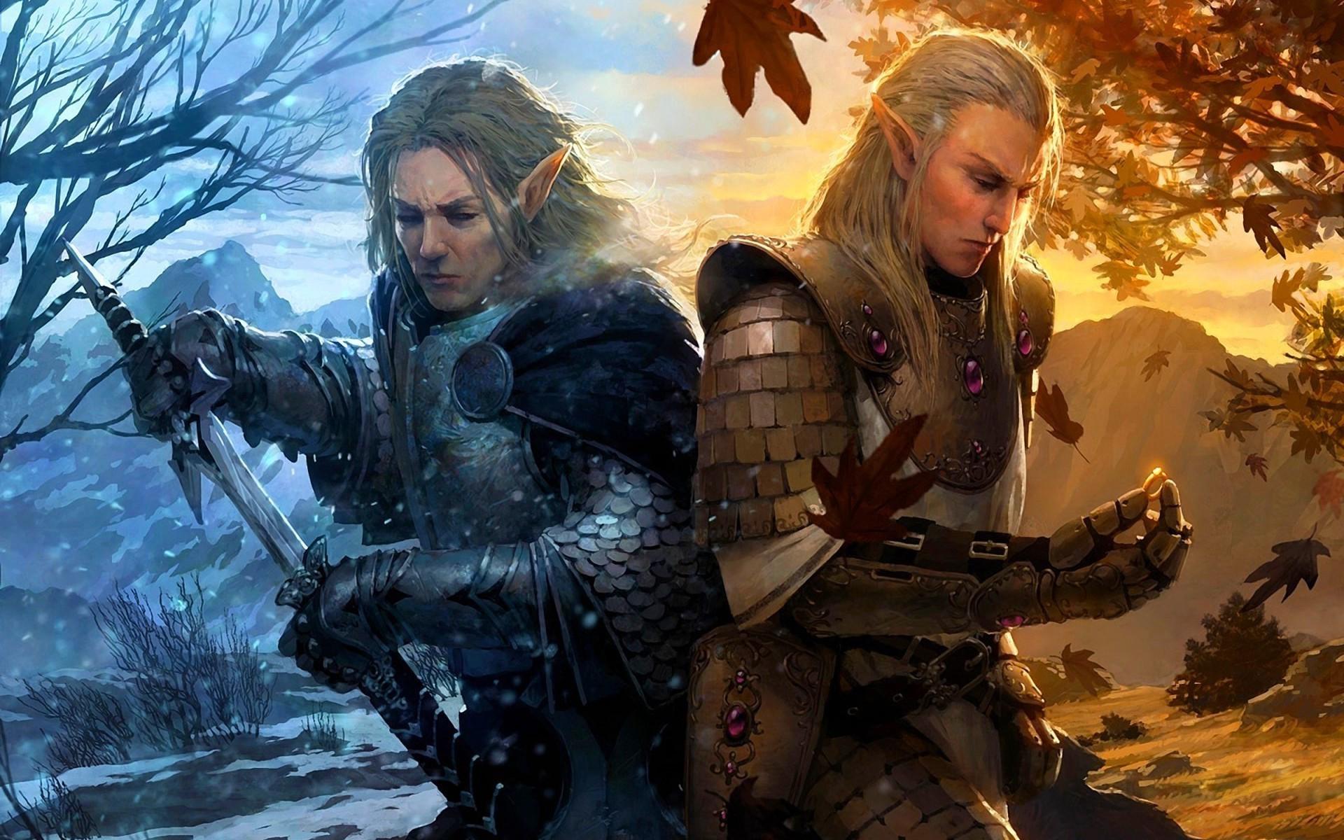 Archer Warrior Elves Fantasy Art Wallpapers Hd: Male Elf Wallpaper (68+ Images