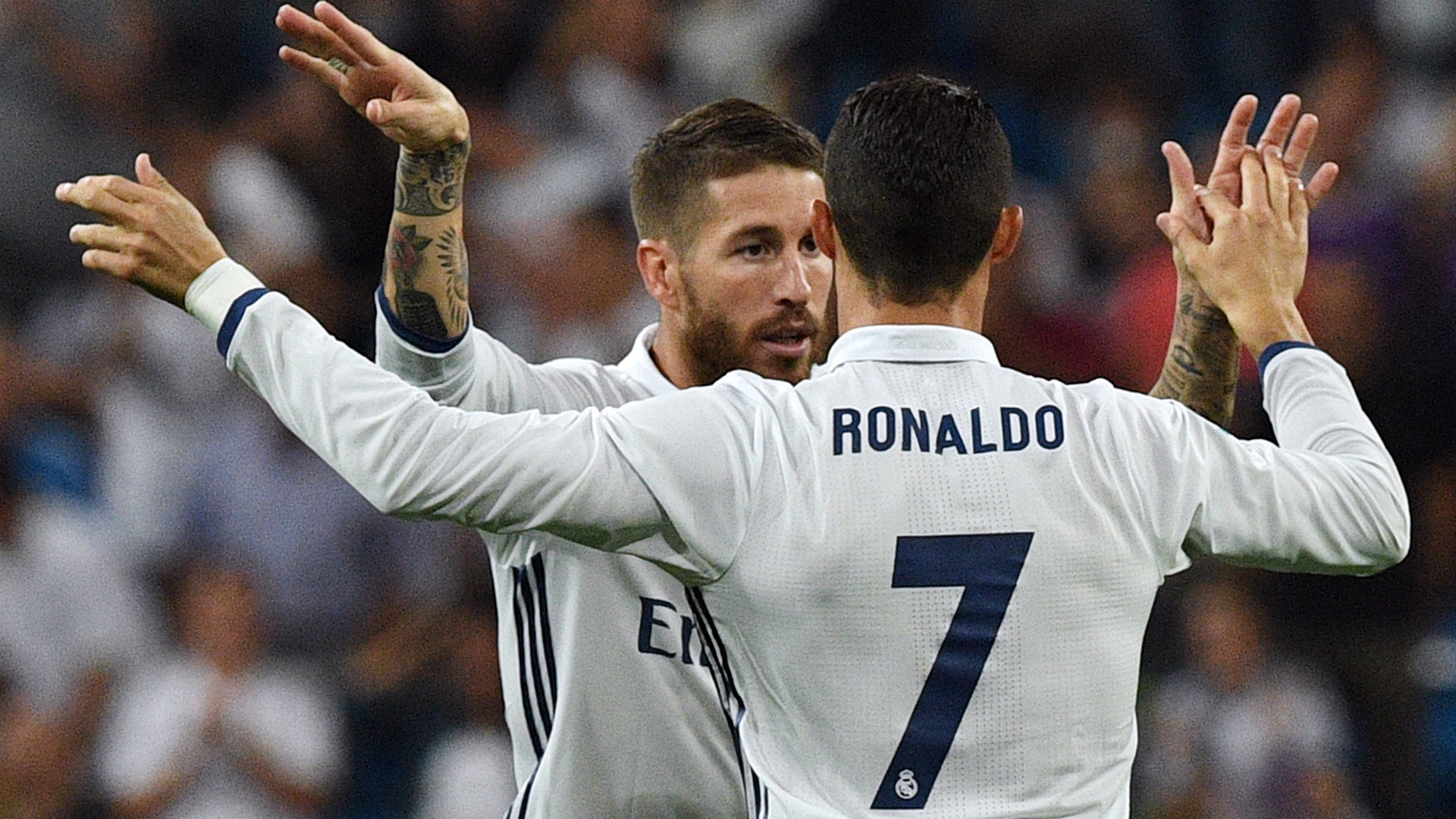 1920x1080 Sergio Ramos and Cristiano Ronaldo will not face Fuenlabrada in the first  leg of Real Madrid's Copa del Rey tie, according to ESPN.