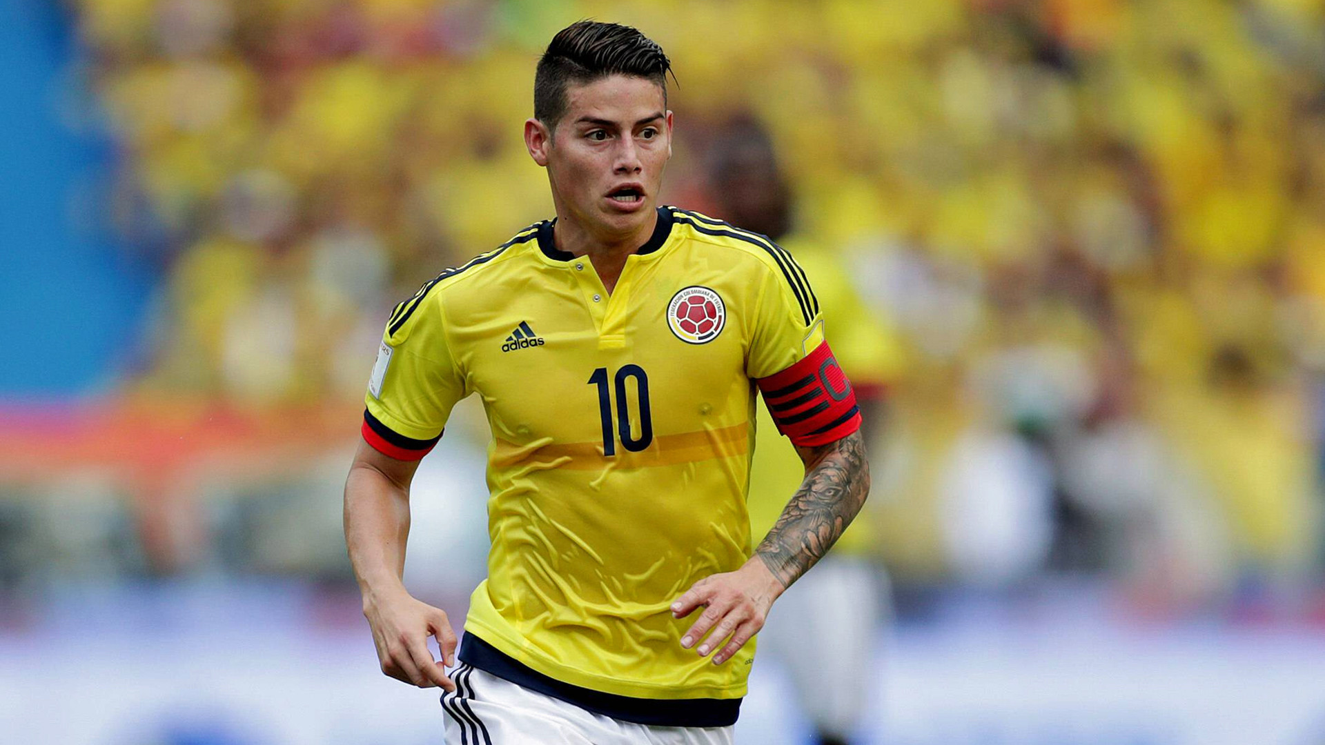 1920x1080 James Rodriguez returns to action for Colombia