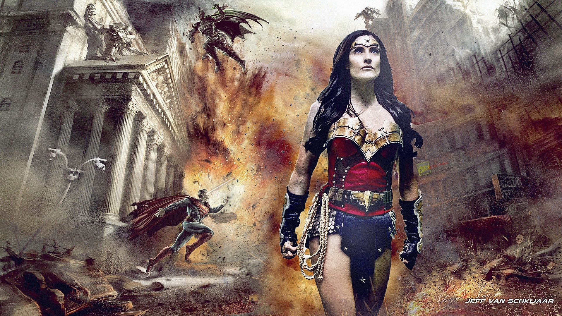 Wonder Woman Wallpapers: Wonder Woman Wallpapers (63+ Images