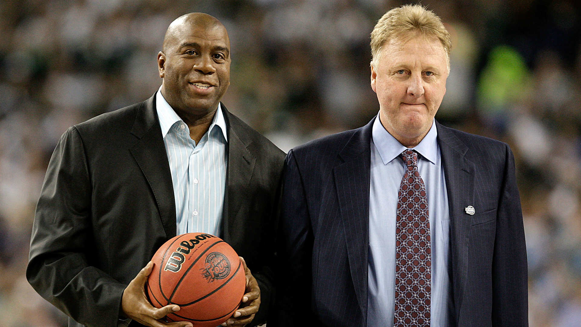 1920x1080 Larry Bird 'couldn't imagine' playing with Magic Johnson | NBA | Sporting  News