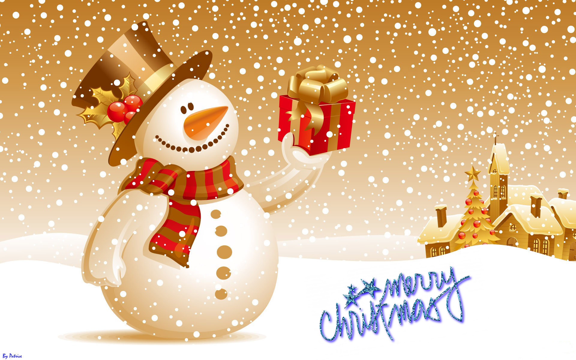 Merry Christmas Wallpaper Clip Art 43 Images