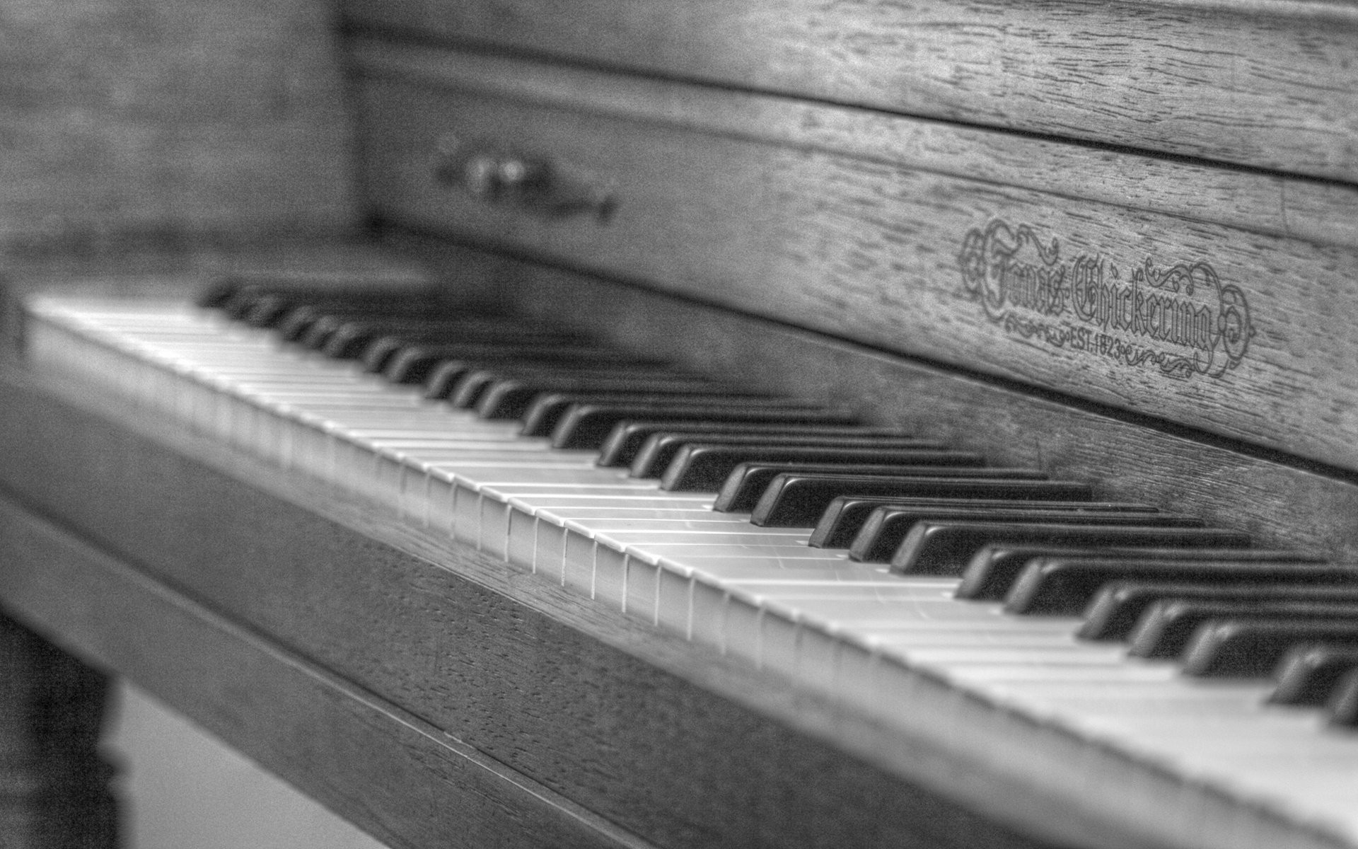 1920x1200 Black white piano wallpaper desktop wallpapers.