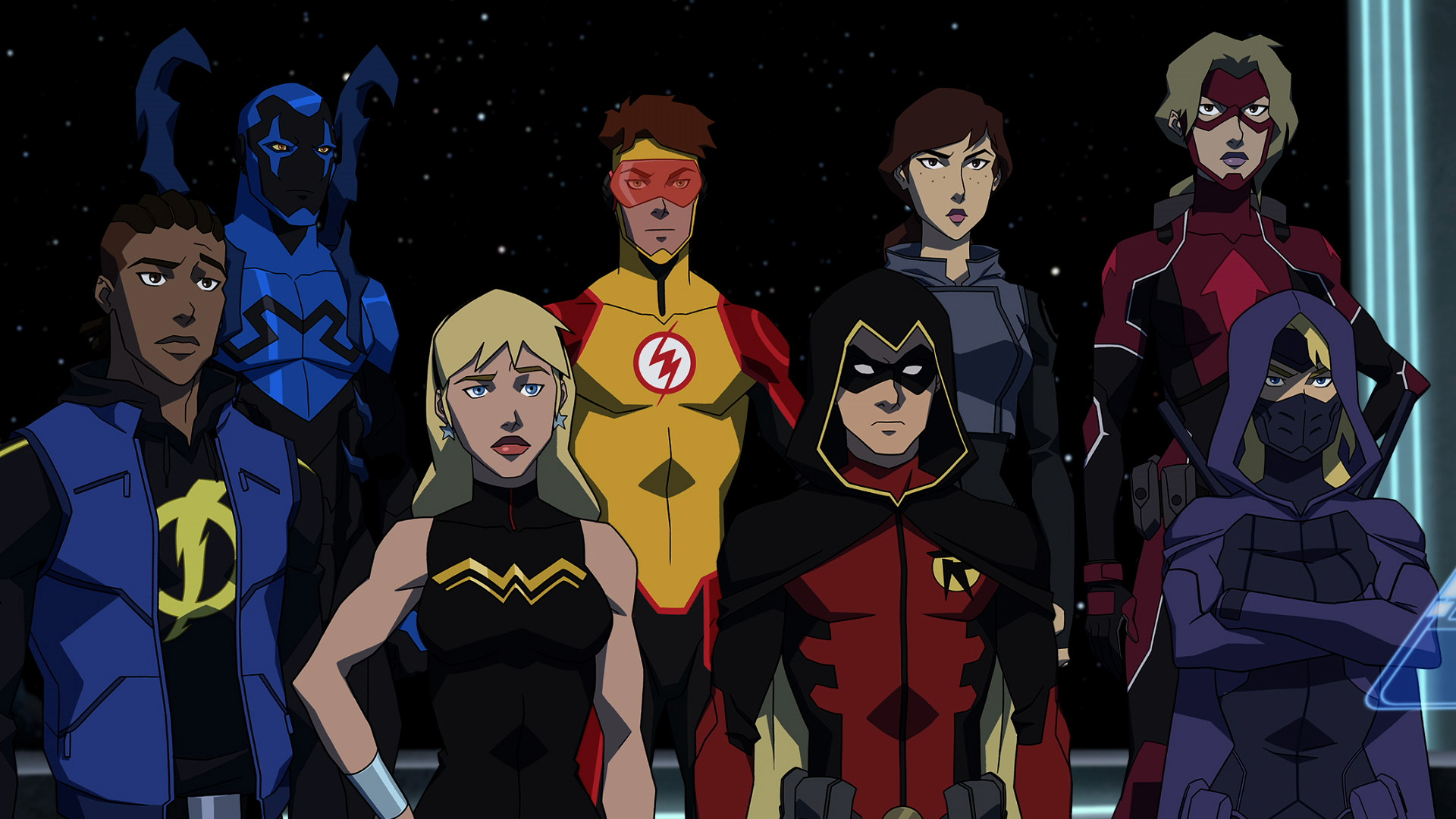 "1920x1080 10 ""Astrous"" Moments from YOUNG JUSTICE: OUTSIDERS Premiere Episodes"