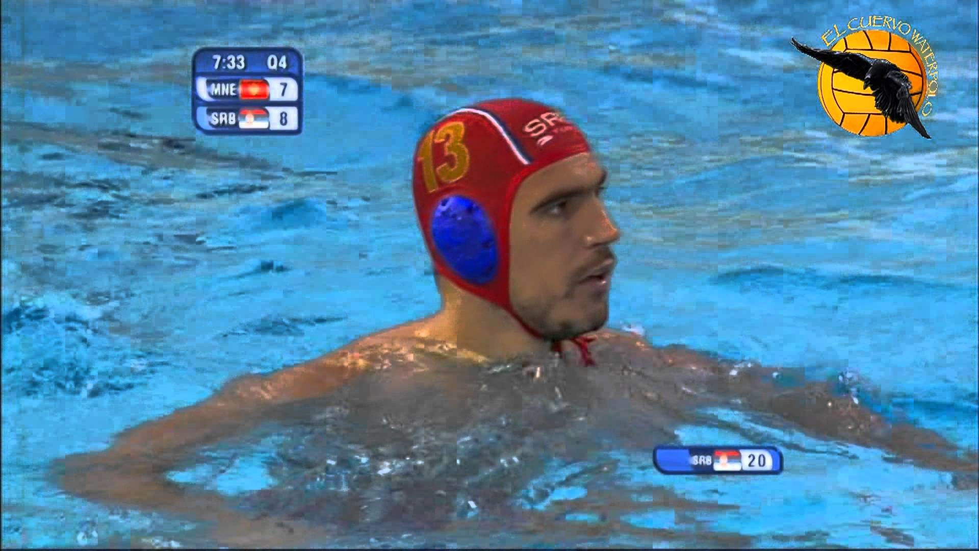 1920x1080 Montenegro 9 Serbia 8 4f World Champs Barcelona 2013 30 7 13 water polo -  YouTube