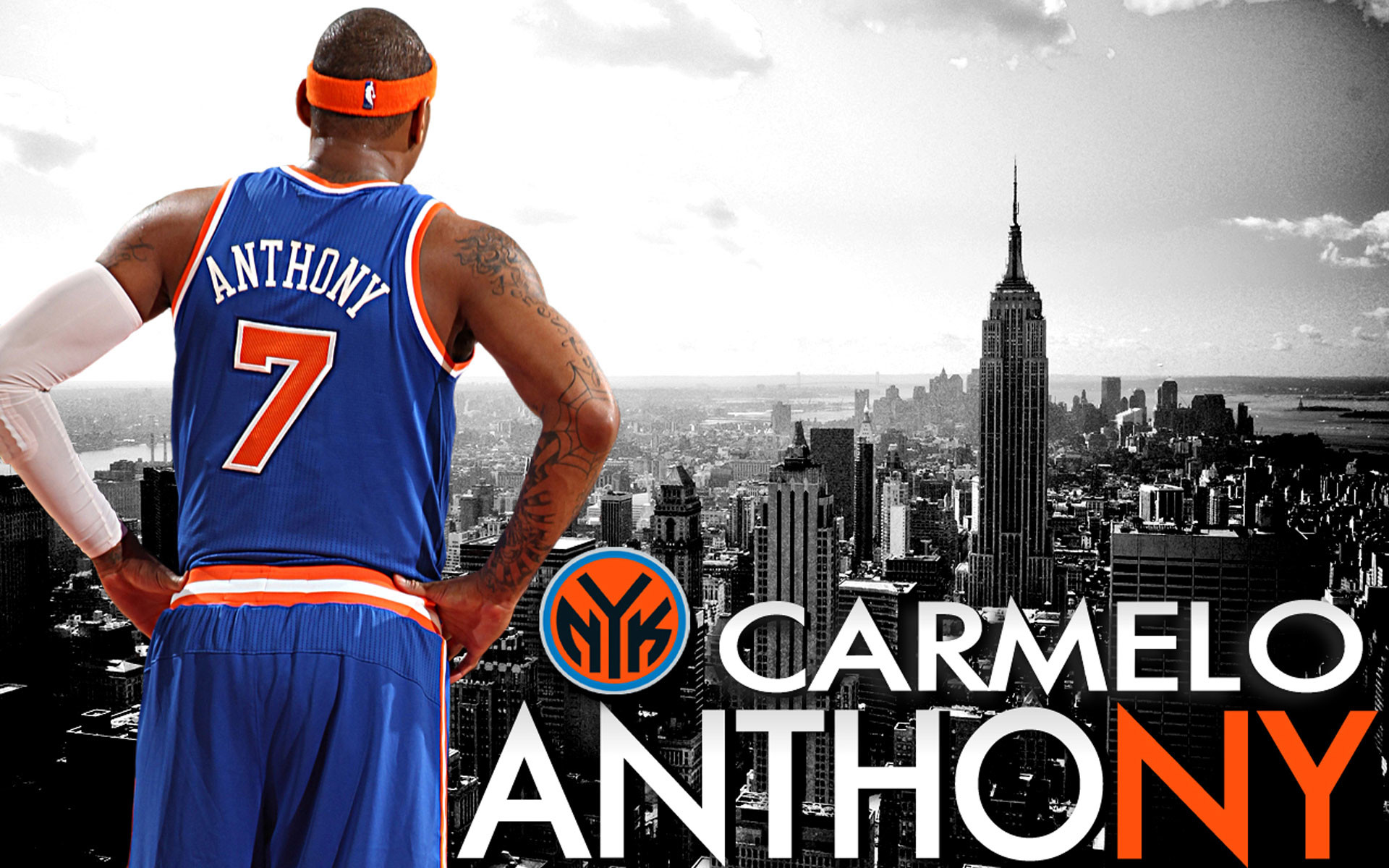 1920x1200 Carmelo Anthony New York Knicks Wallpaper Carmelo Anthony Knicks Wall