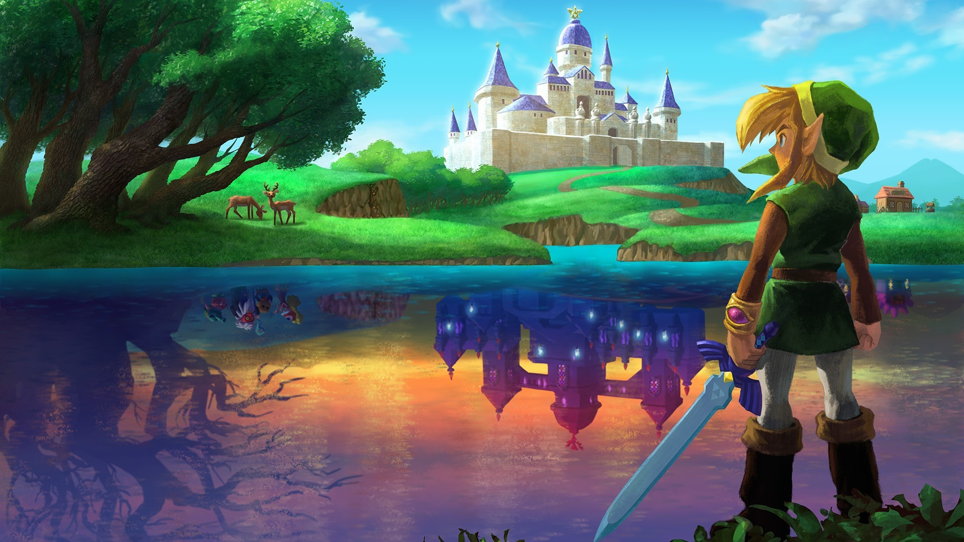 1920x1080 #video games, #Link, #The Legend of Zelda, #Master Sword wallpaper