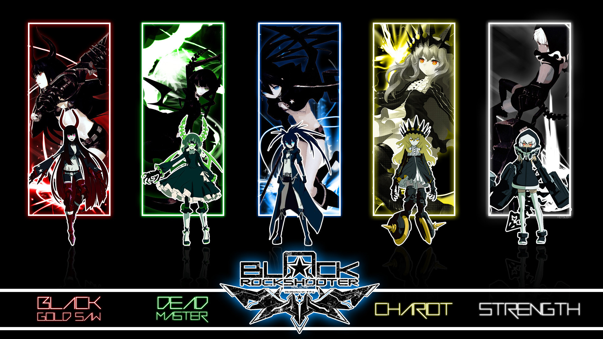 1920x1080 11 Chariot (Black Rock Shooter) HD Wallpapers | Backgrounds - Wallpaper  Abyss