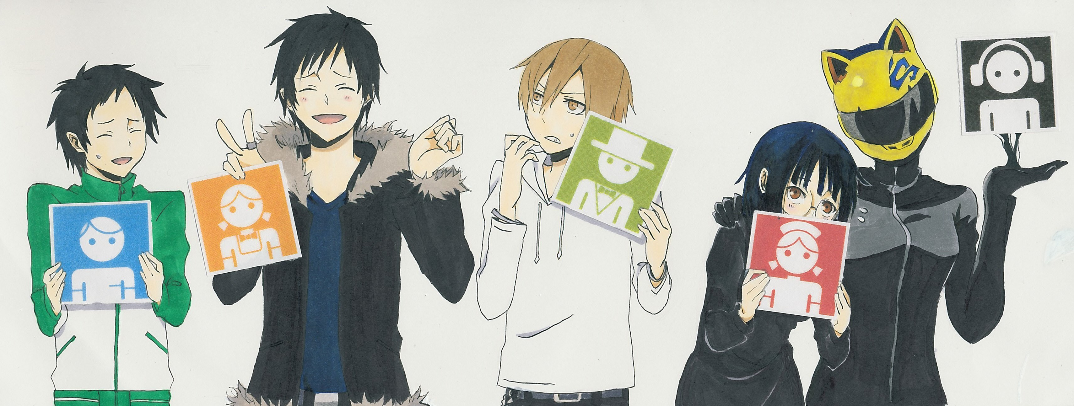 3421x1294 Download Free Durarara Wallpapers Pixelstalk Net