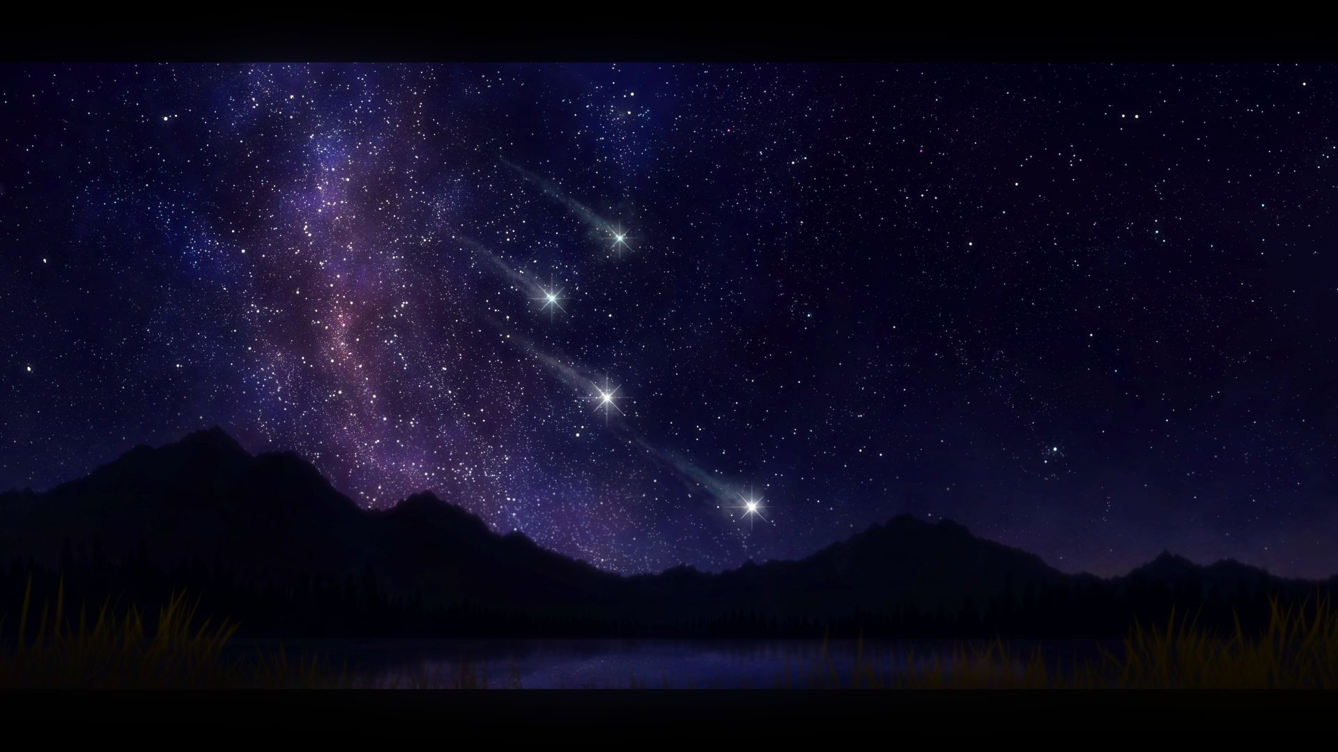 1920x1080 Magical Tag - Sky Magical Night Earth Stars Nights Nature Wallpaper In The  for HD 16