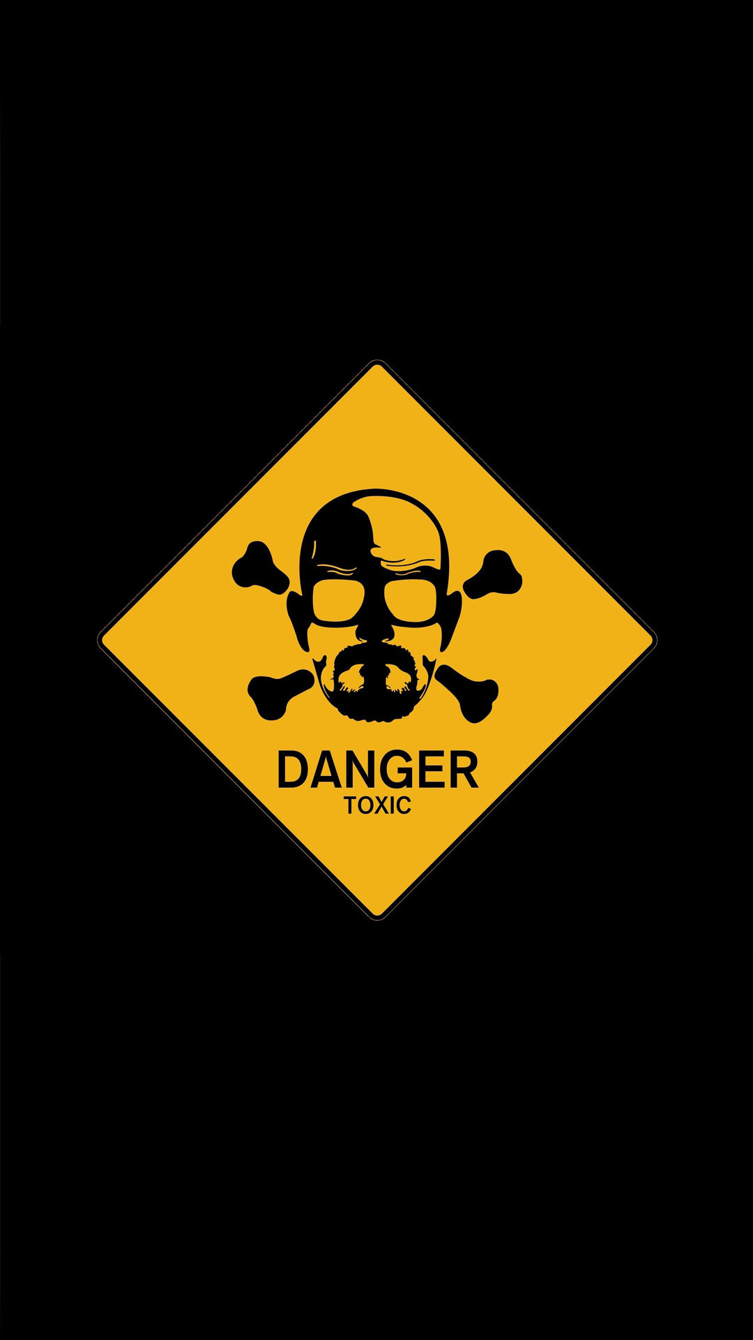 1080x1920 Danger Toxic Breaking Bad Walter White Android Wallpaper ...
