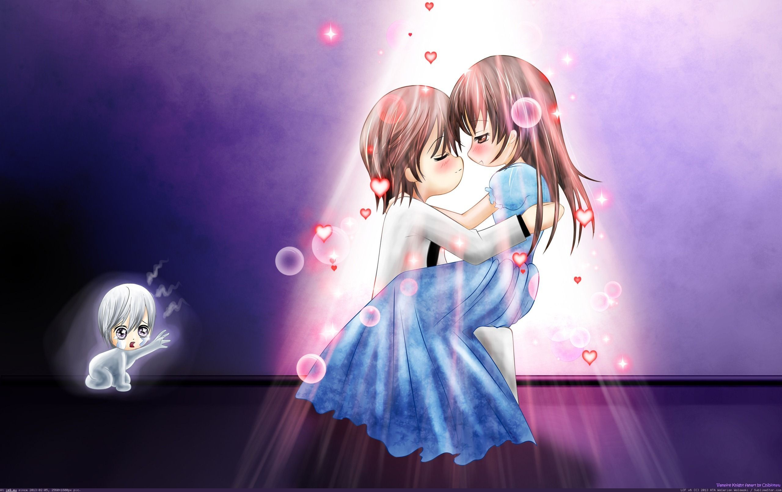 1920x1200 Wallpapers For Cute Anime Couple Desktop