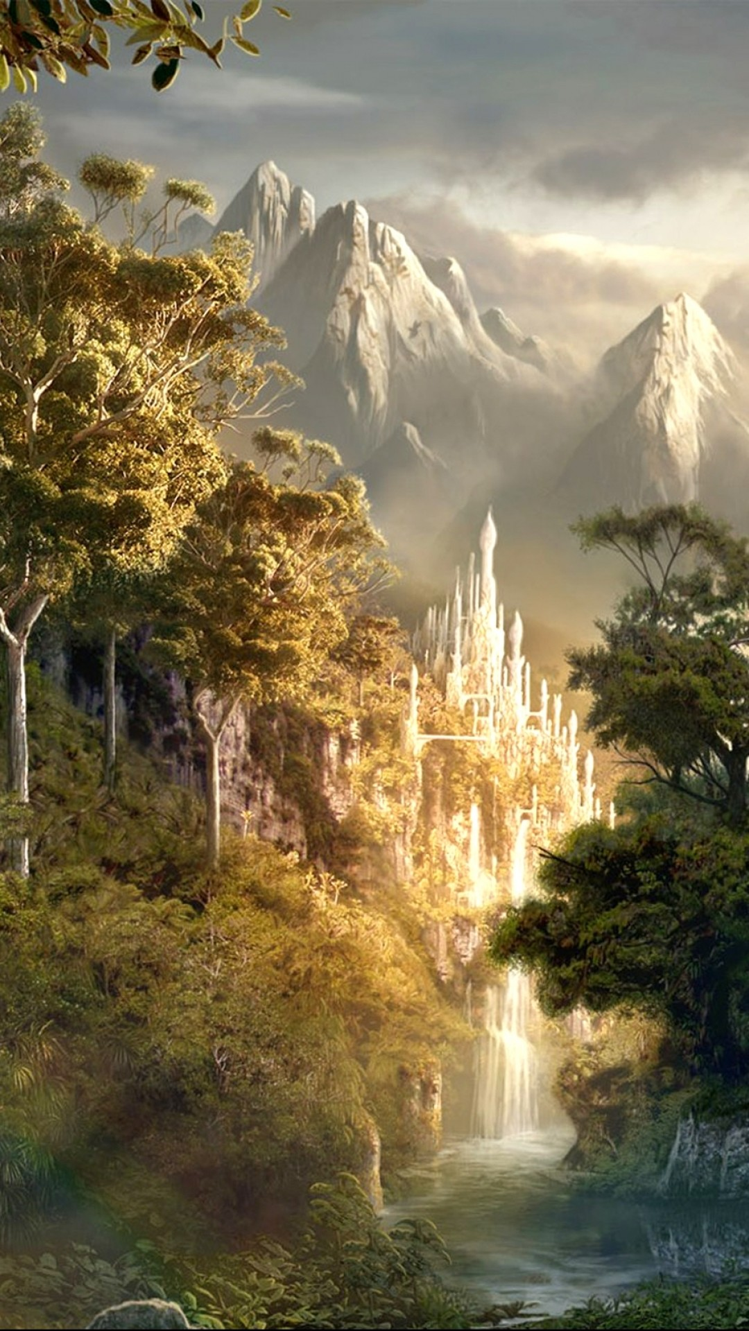 Fantasy landscape wallpaper 76 images - I phone fantasy wallpapers ...