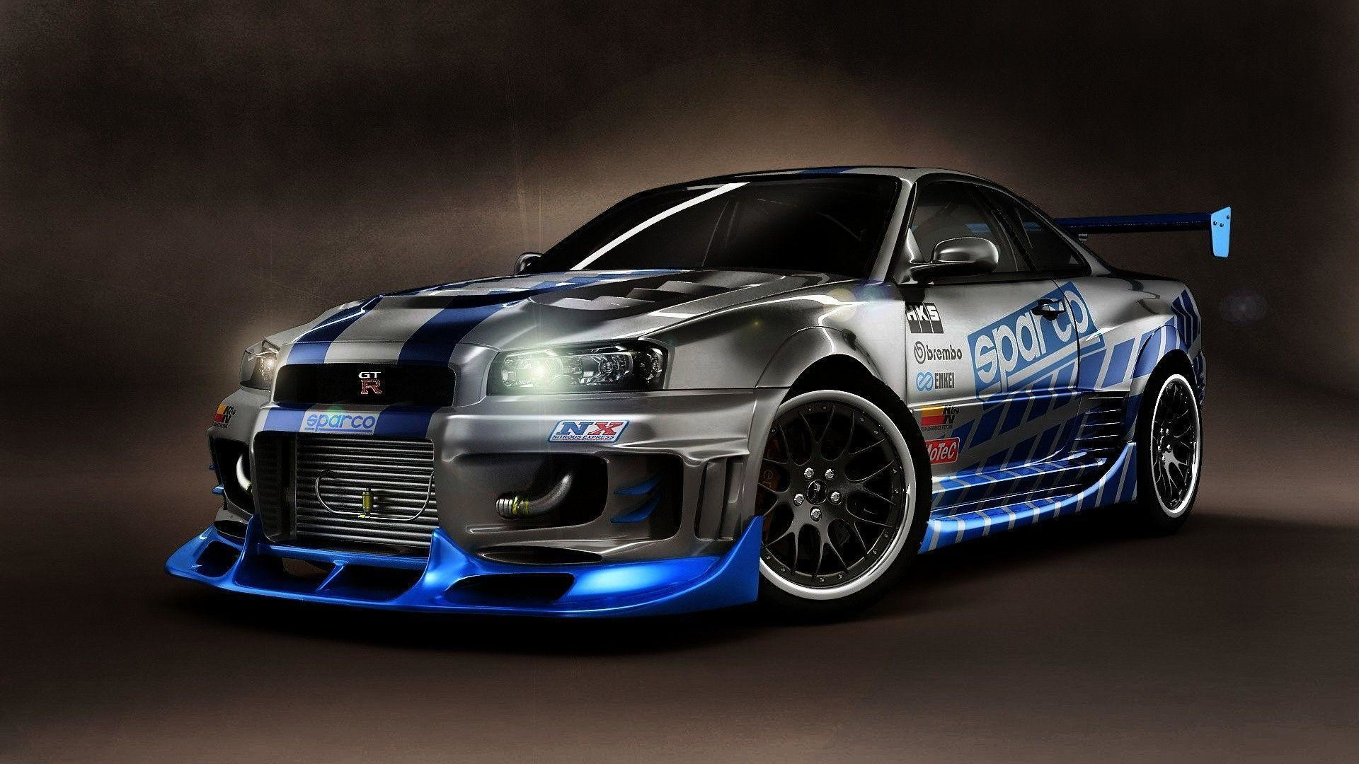 1920x1080 Nissan Skyline GTR R34 Wallpaper | Car Wallpaper HD