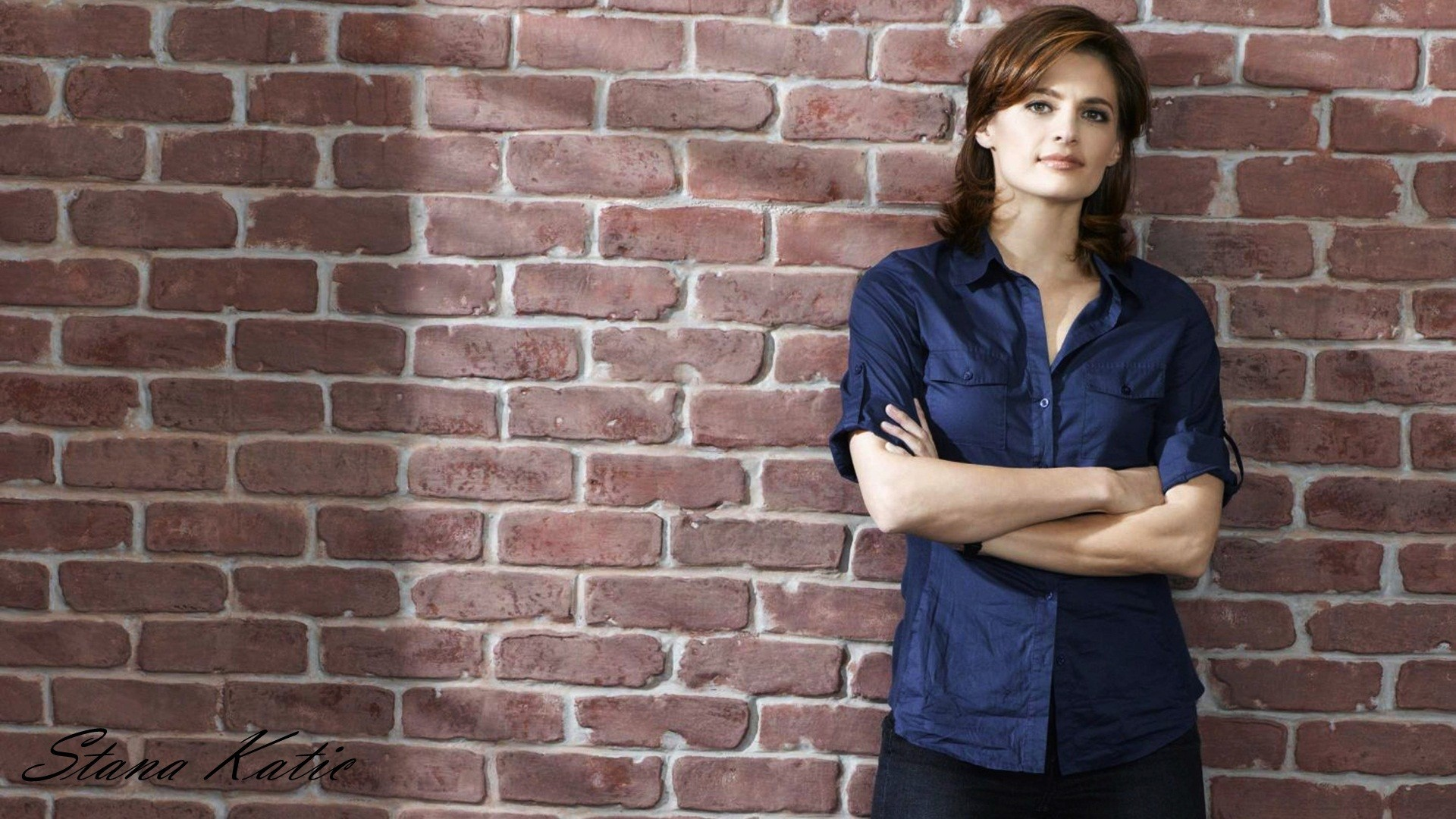 1920x1080 Latest Stana Katic HD Wallpaper