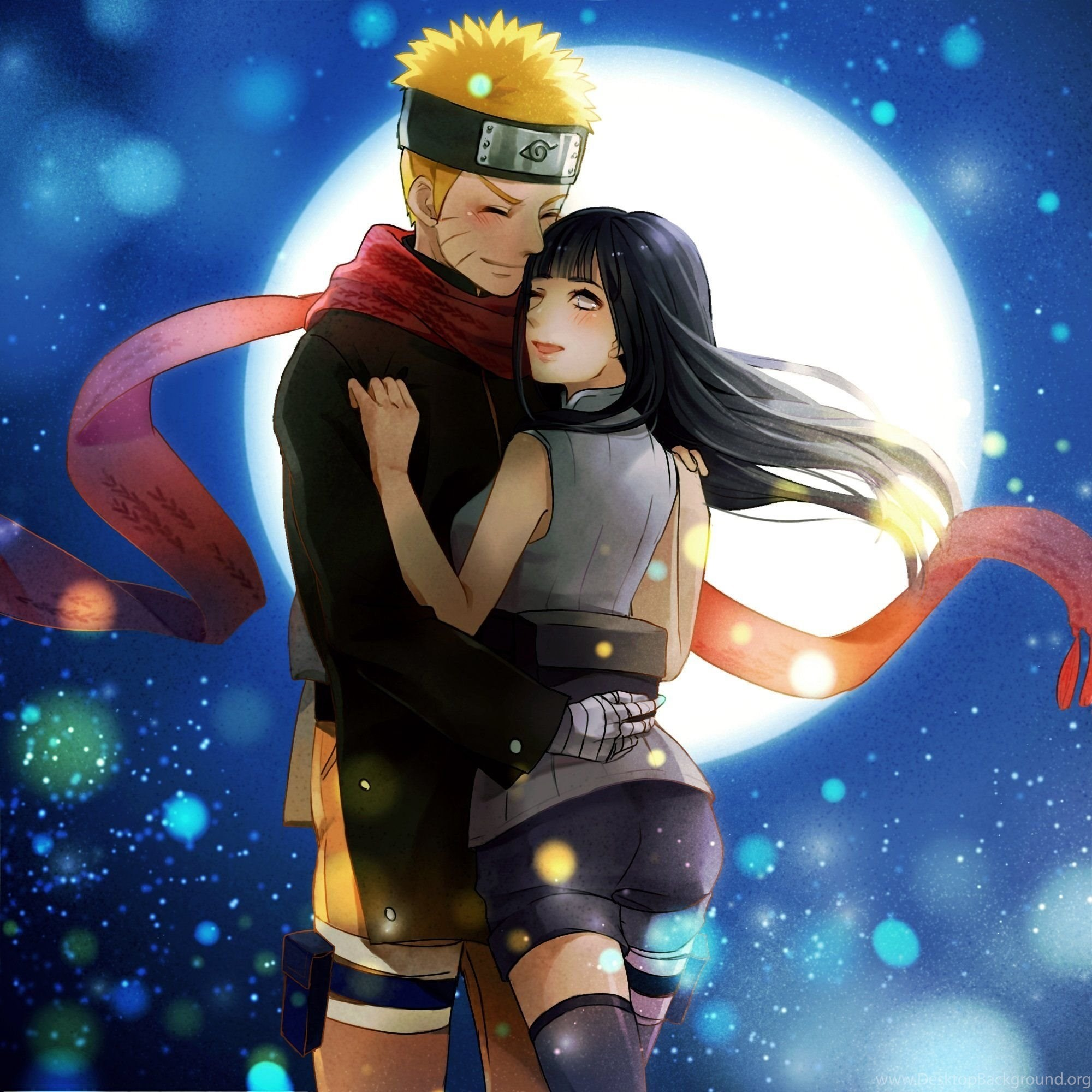Anime Wallpaper Naruto And Hinata