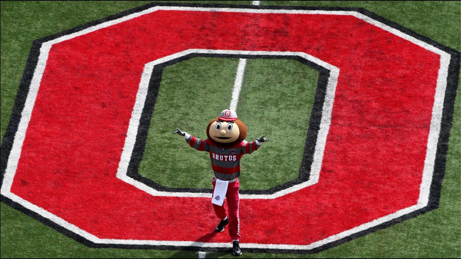 1920x1080 BRUTUS BUCKEYE AT MIDFIELD - Ohio State Football Wallpaper .