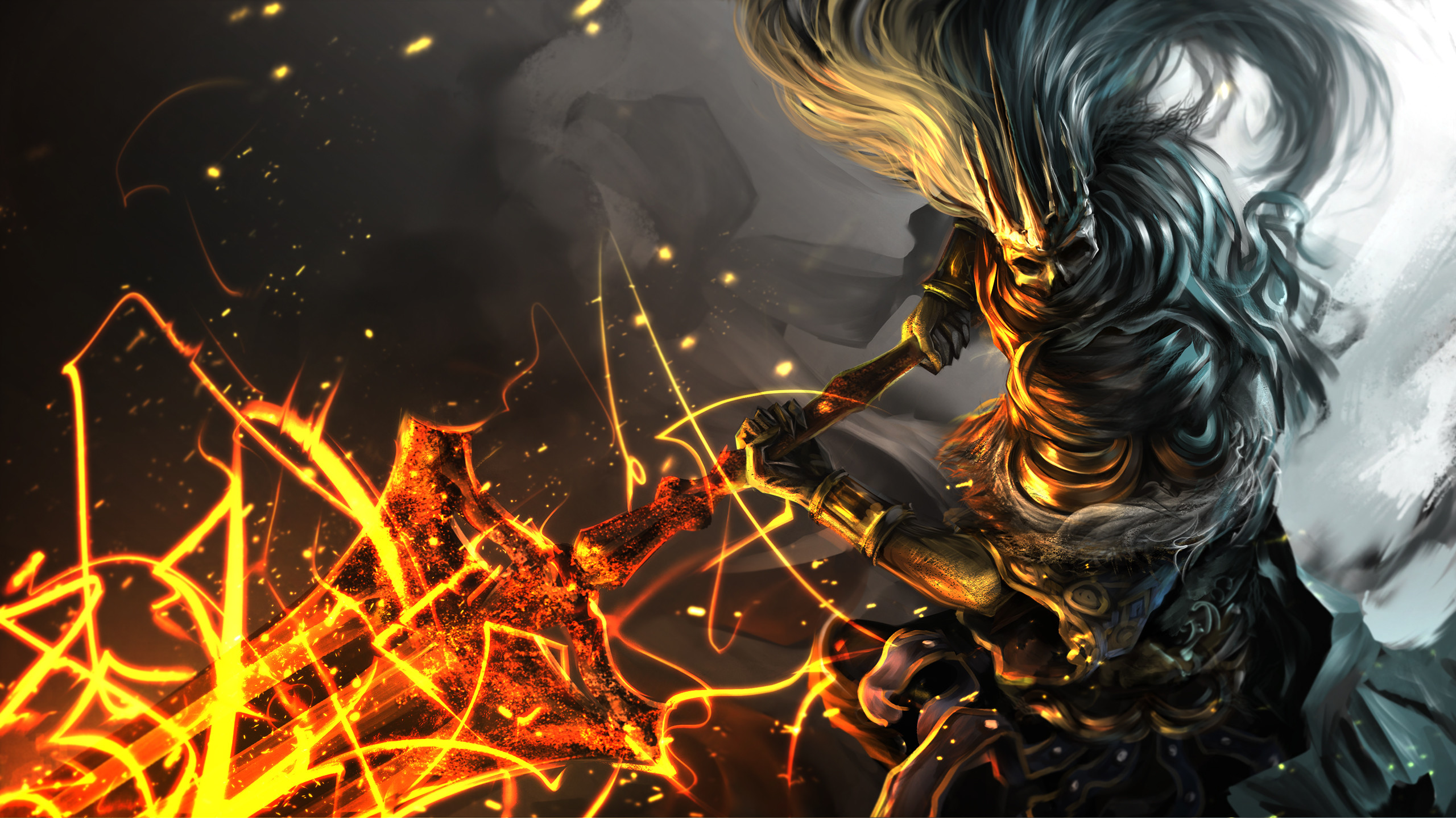 2560x1440 How to Defeat the Soul of Cinder Dark Souls YouTube 2560×1440