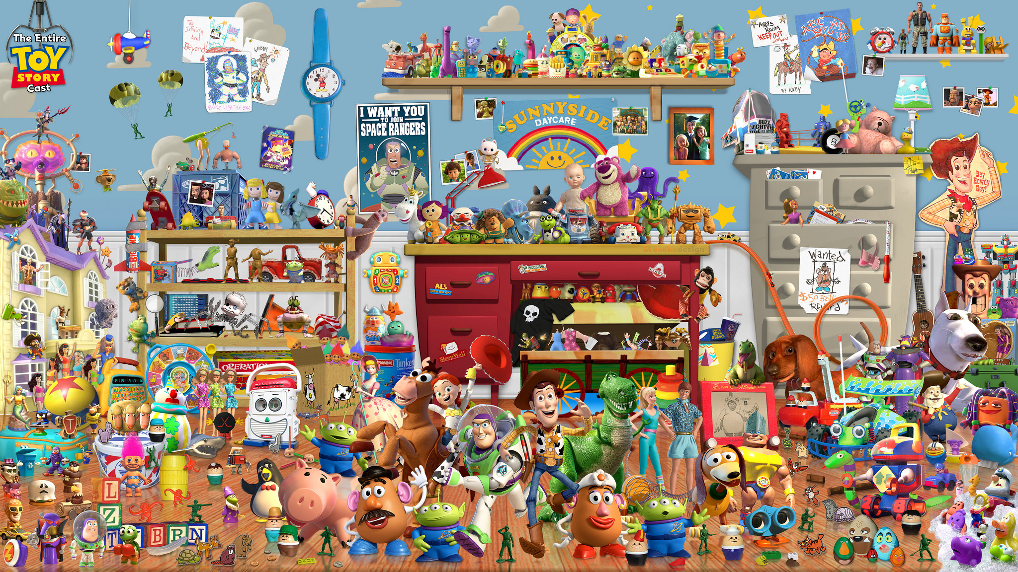 Toy story wallpaper for desktop 55 images - Toy story wallpaper ...