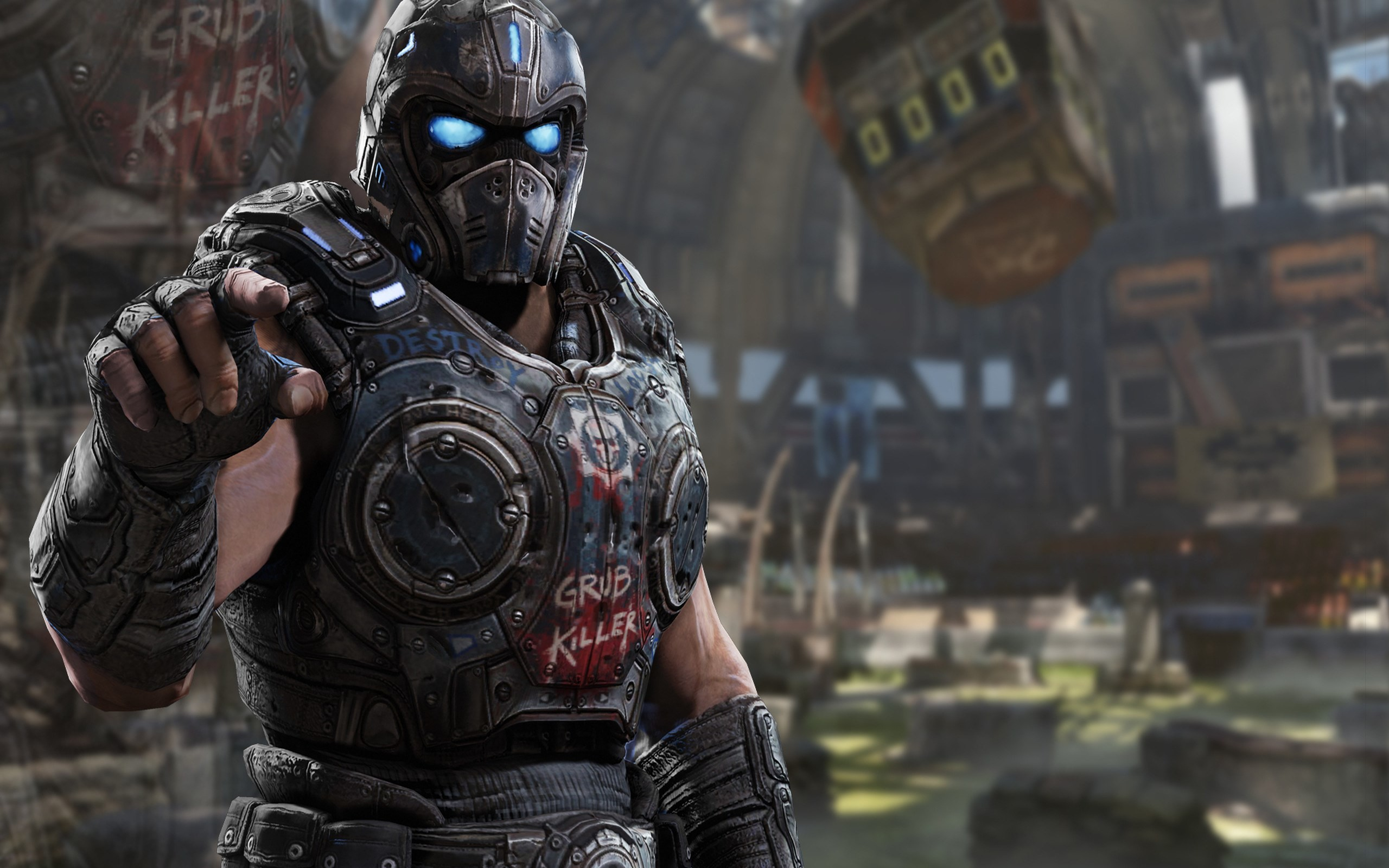 2560x1600 Gears of War 3 Wallpaper Pack 1080p HD - Getriebe des Krieges 3 Kategorie