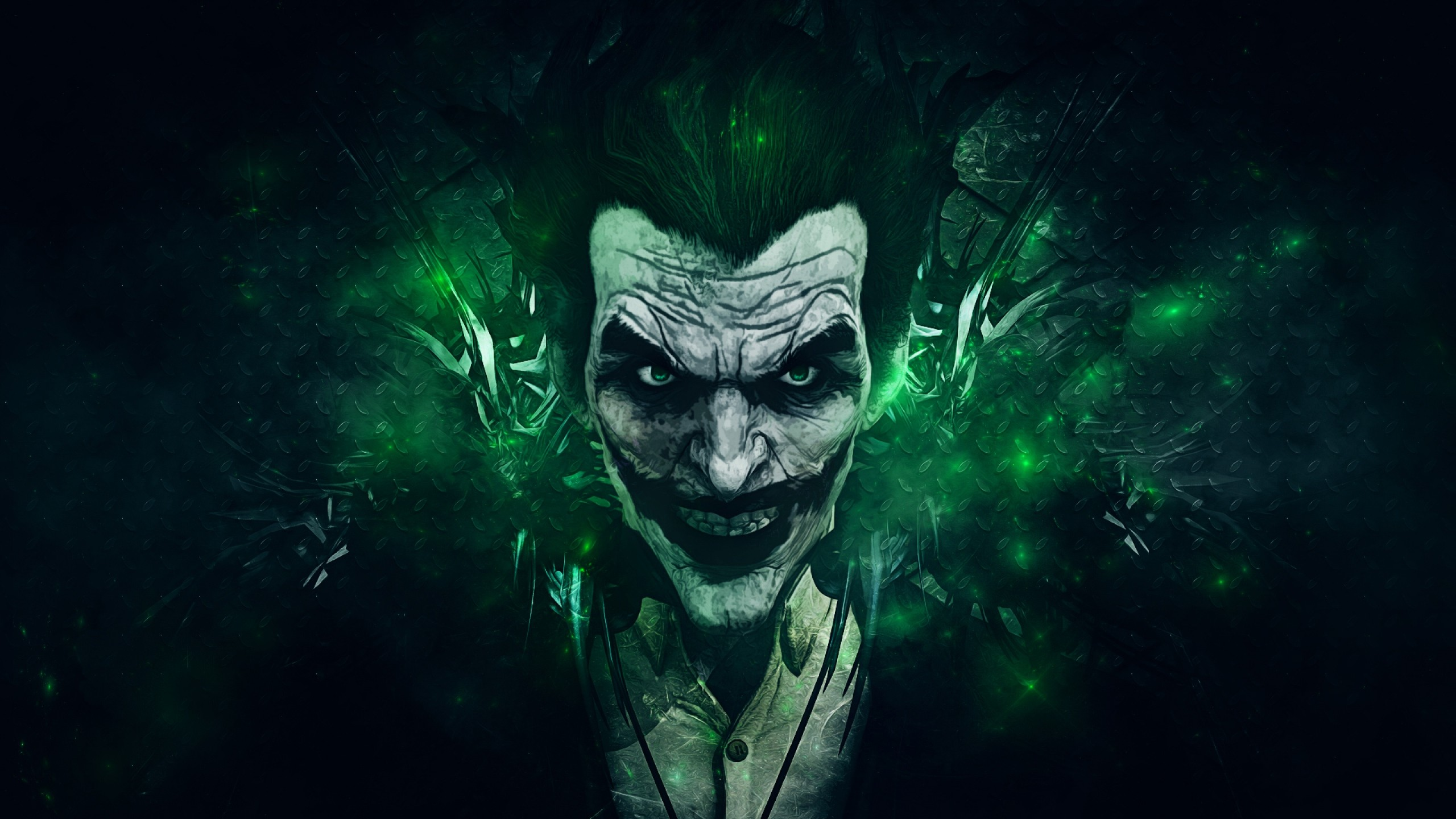 2560x1440  Wallpaper batman arkham origins, joker, games montreal,  rocksteady studios