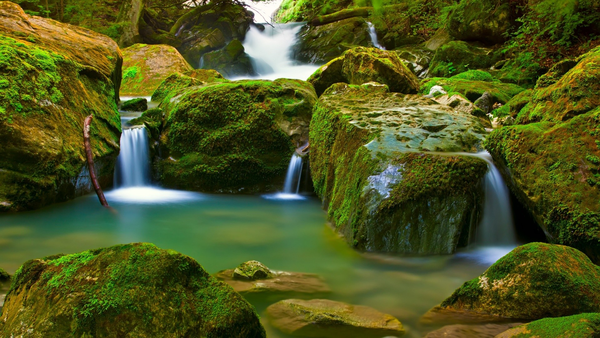 1920x1080 ... Beautiful Nature Wallpaper For Desktop 3d Waterfalls 15 Beautiful  Waterfall. Desktop 1024x768 Landscape Desktop Wps ...