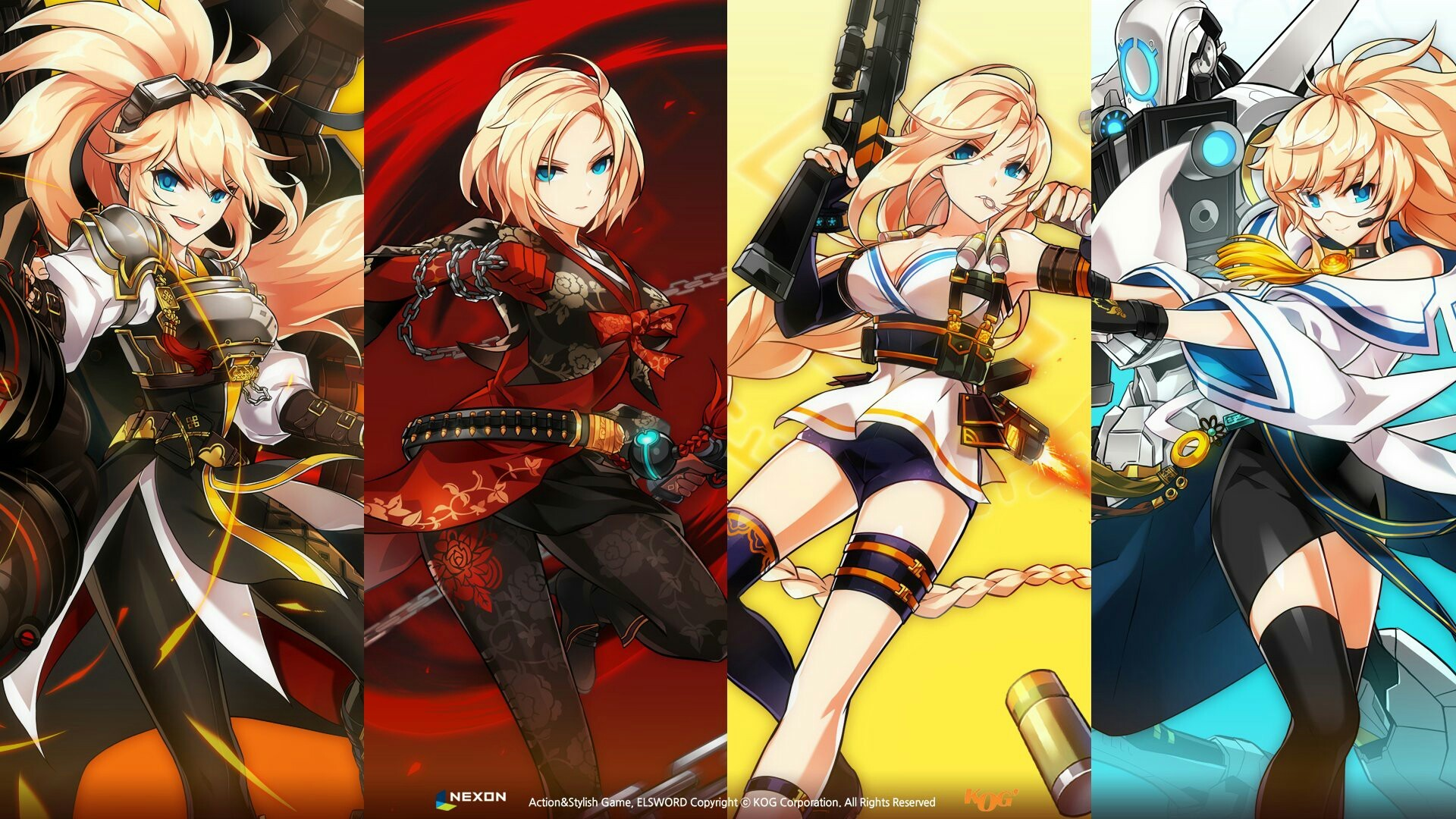 1920x1080 Video Game - Elsword Wallpaper