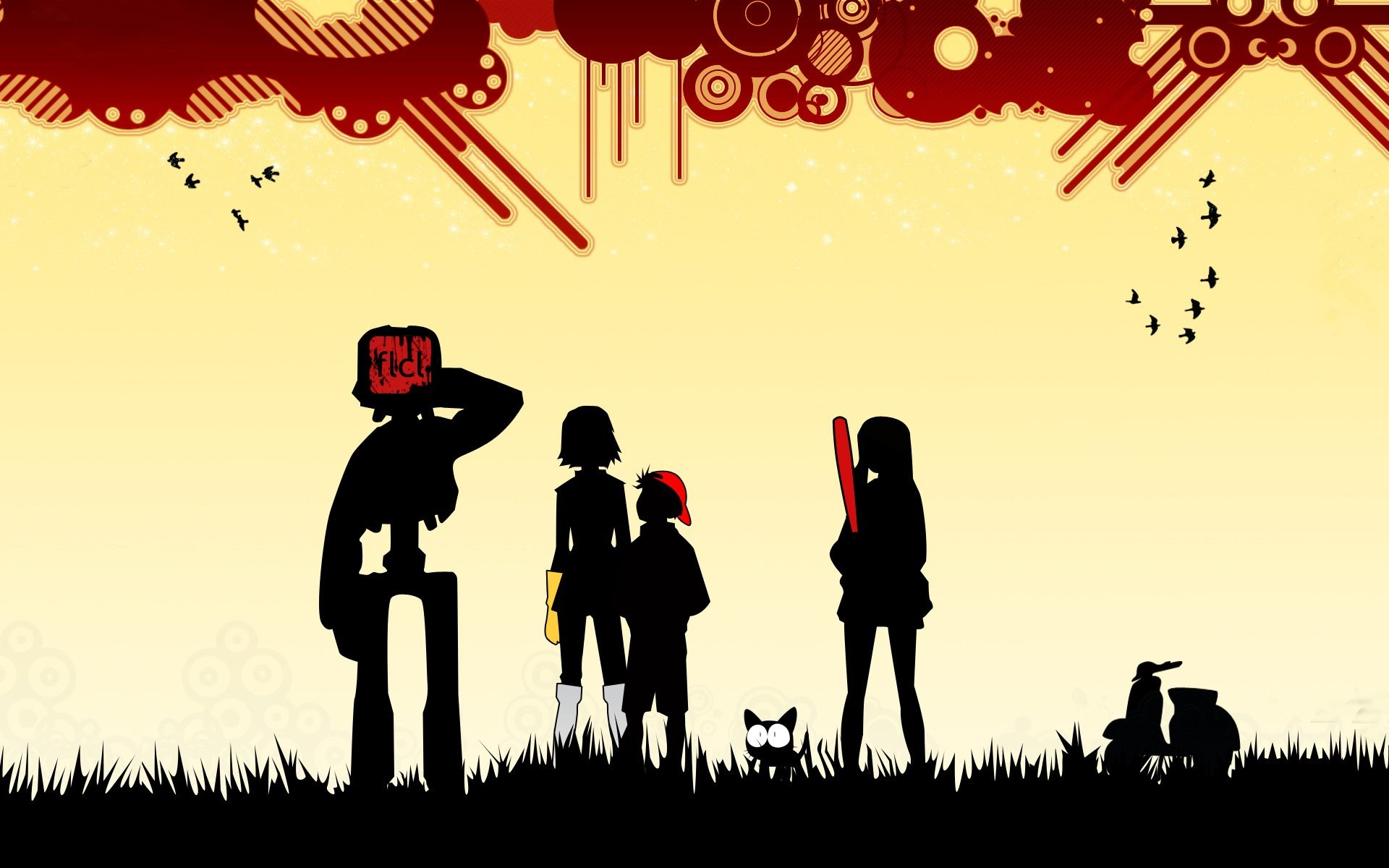 1920x1200 HD Wallpaper | Background Image ID:120460.  Anime FLCL