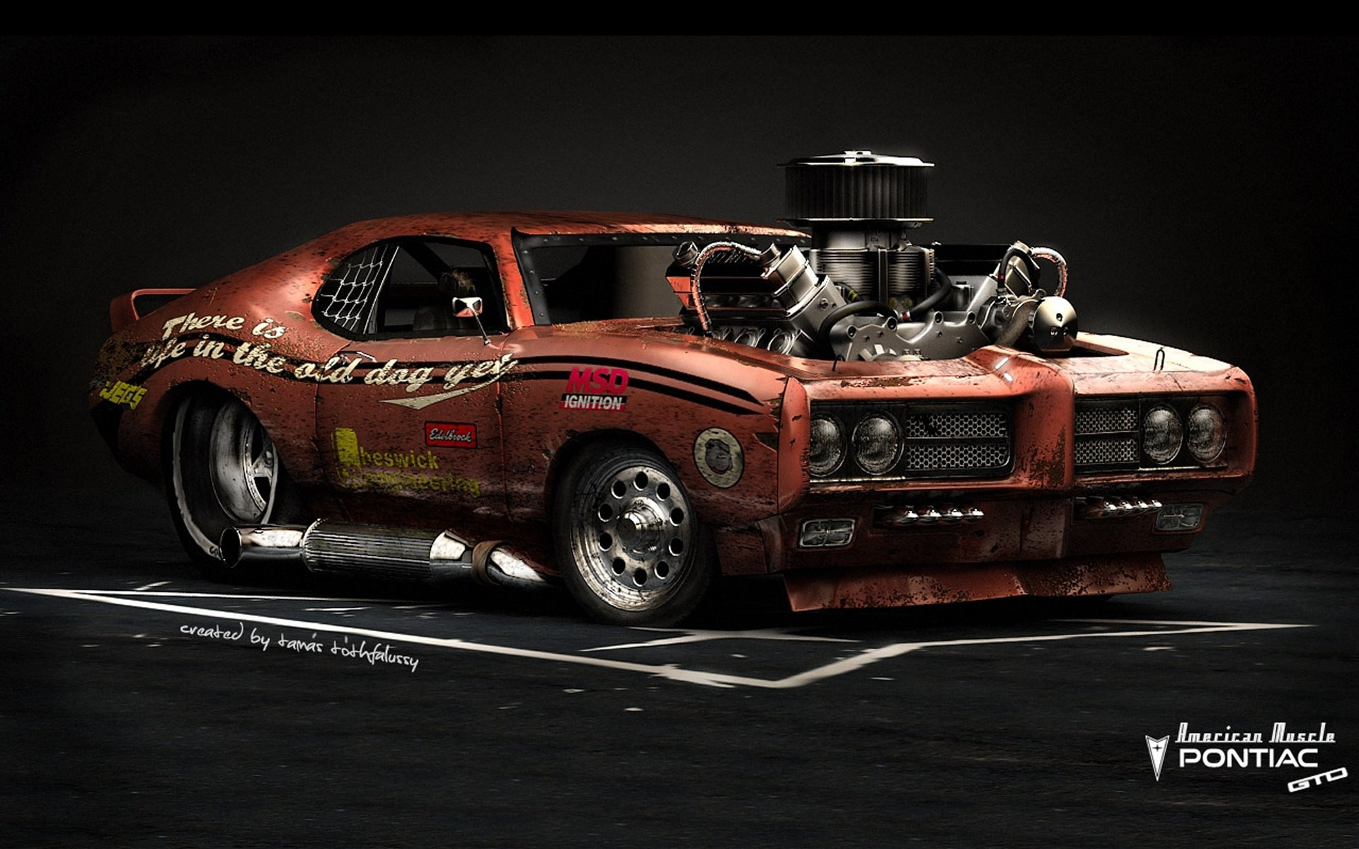 1920x1200 Cool Muscle Car Wallpaper 42 with Cool Muscle Car Wallpaper