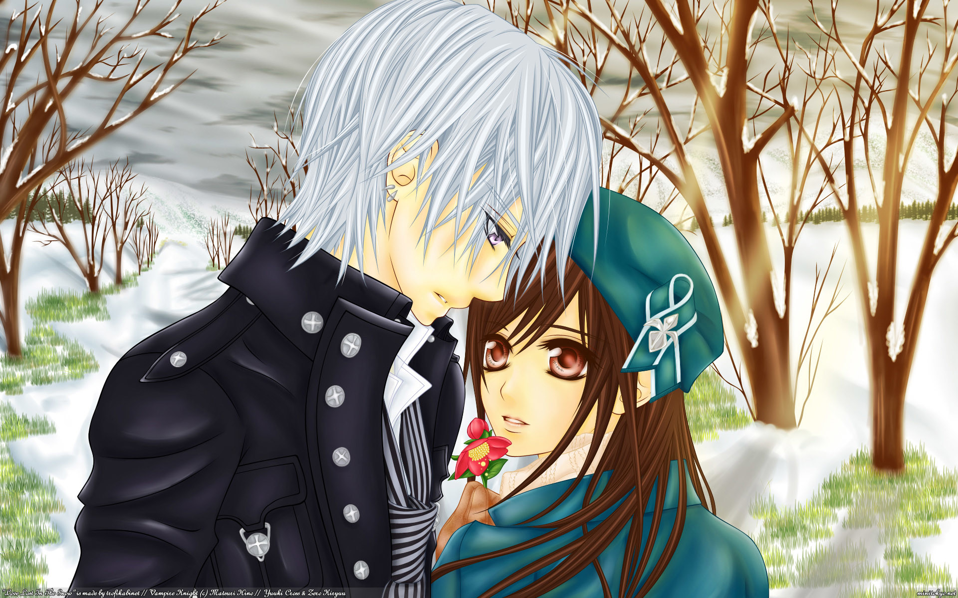 Anime Love Wallpapers: Cute Anime Couple Wallpaper (70+ Images