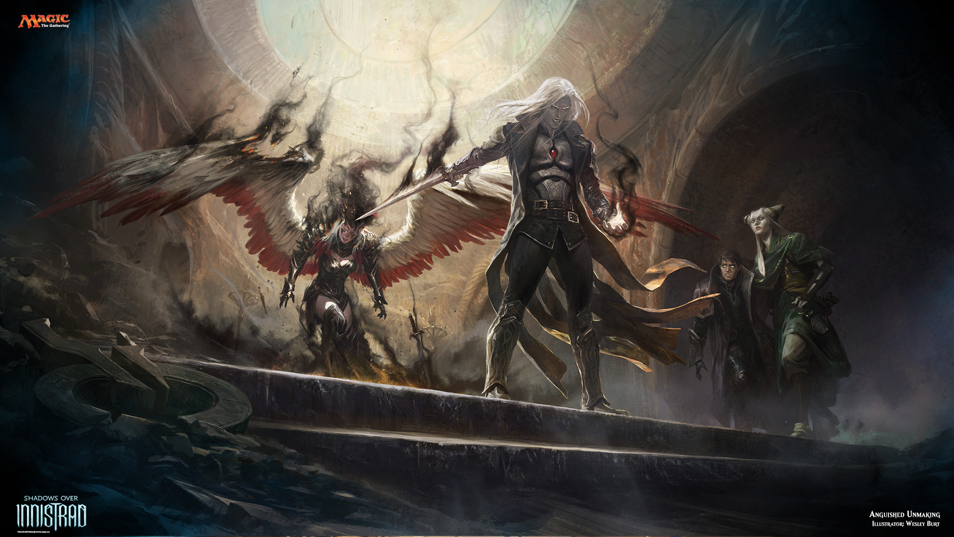 Magic The Gathering Planeswalkers Wallpaper 92 Images
