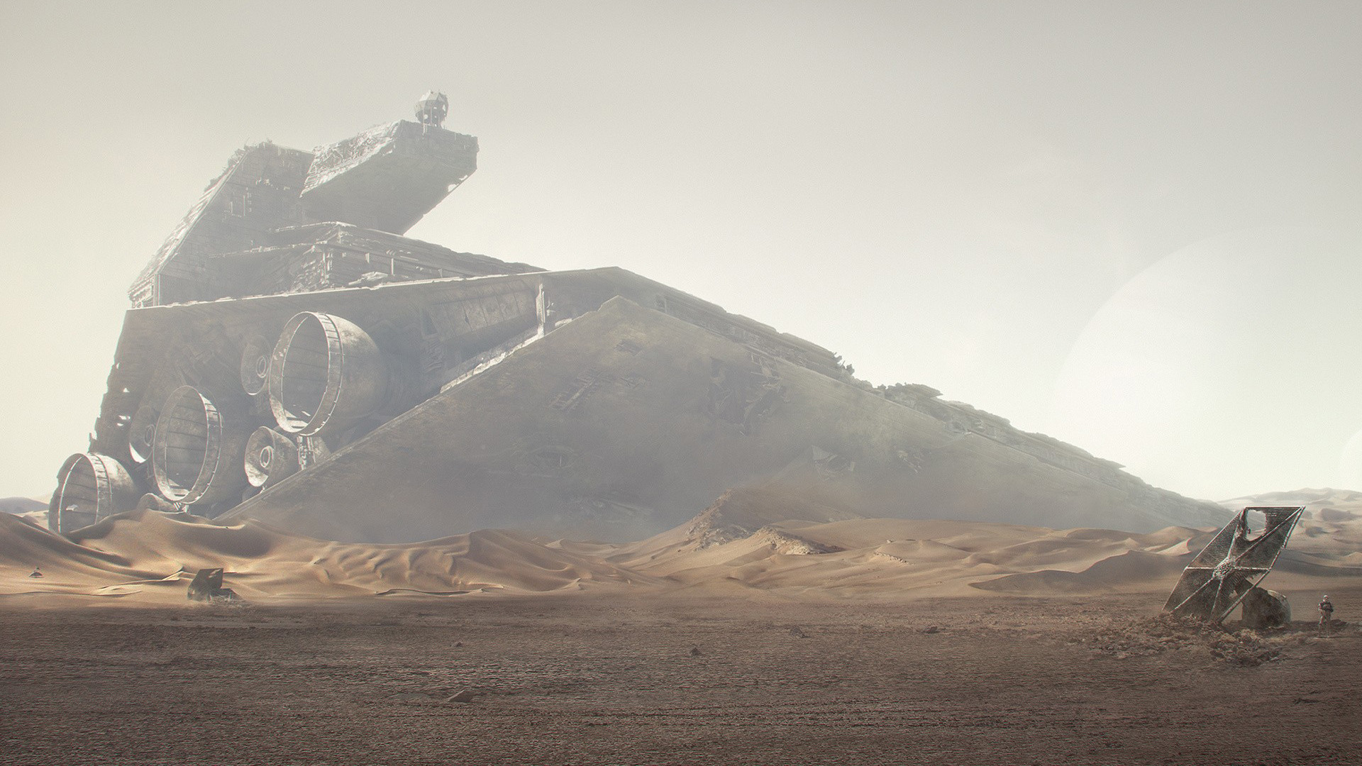 1920x1080 http://www.babaimage.com/images/desktop-background -desert-destroyer-spaceship-star-wars.jpg | FAR || Vehicles & Objects |  Pinterest | Diorama ideas, ...
