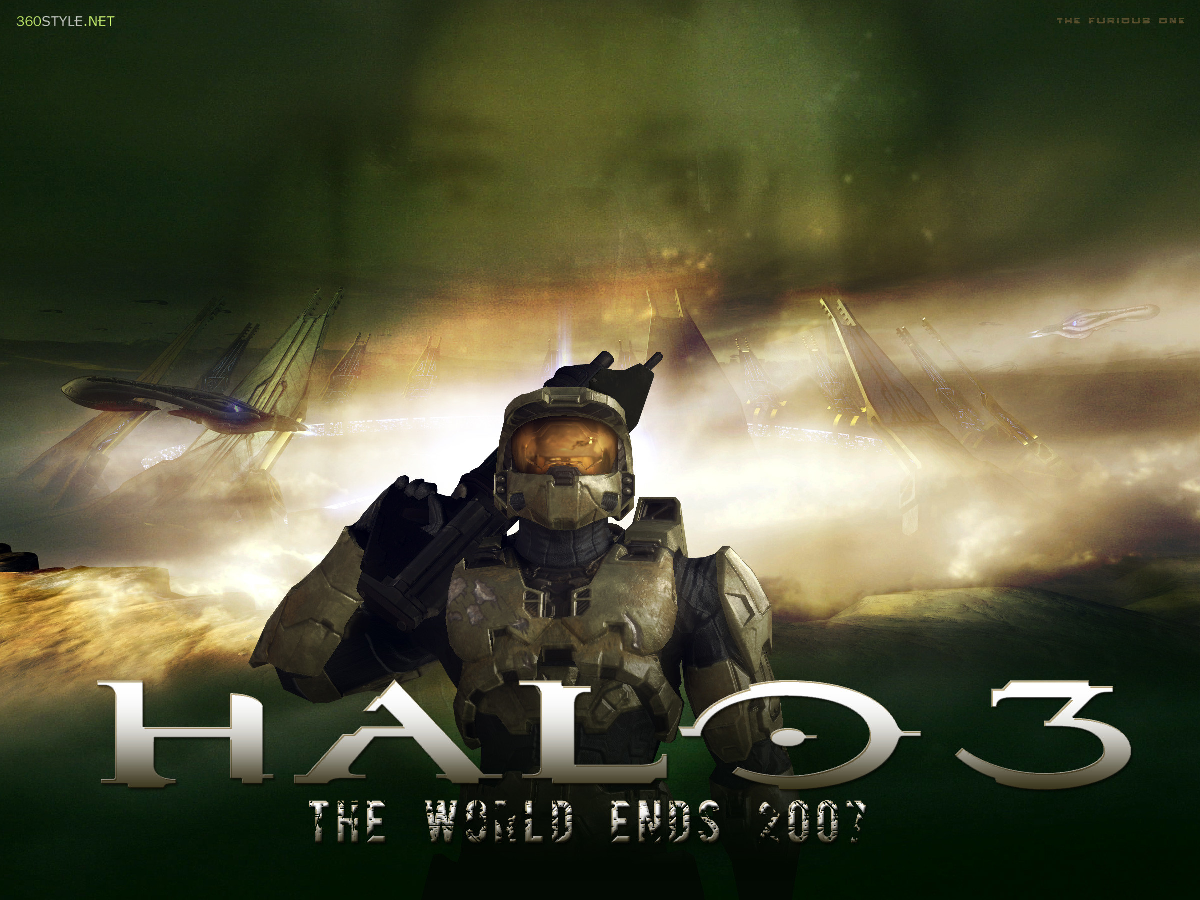 2400x1800 ... Halo 3 Master Chief by F-1