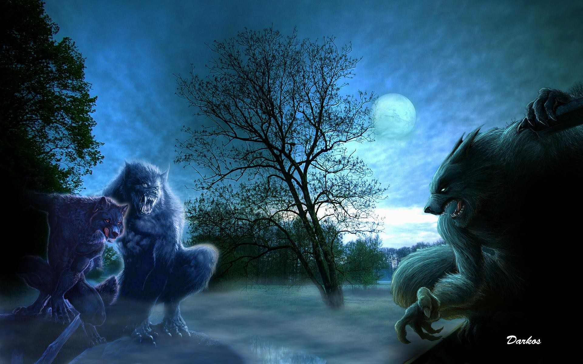1920x1200 wallpaper.wiki-Werewolf-HD-Photo-PIC-WPD00144