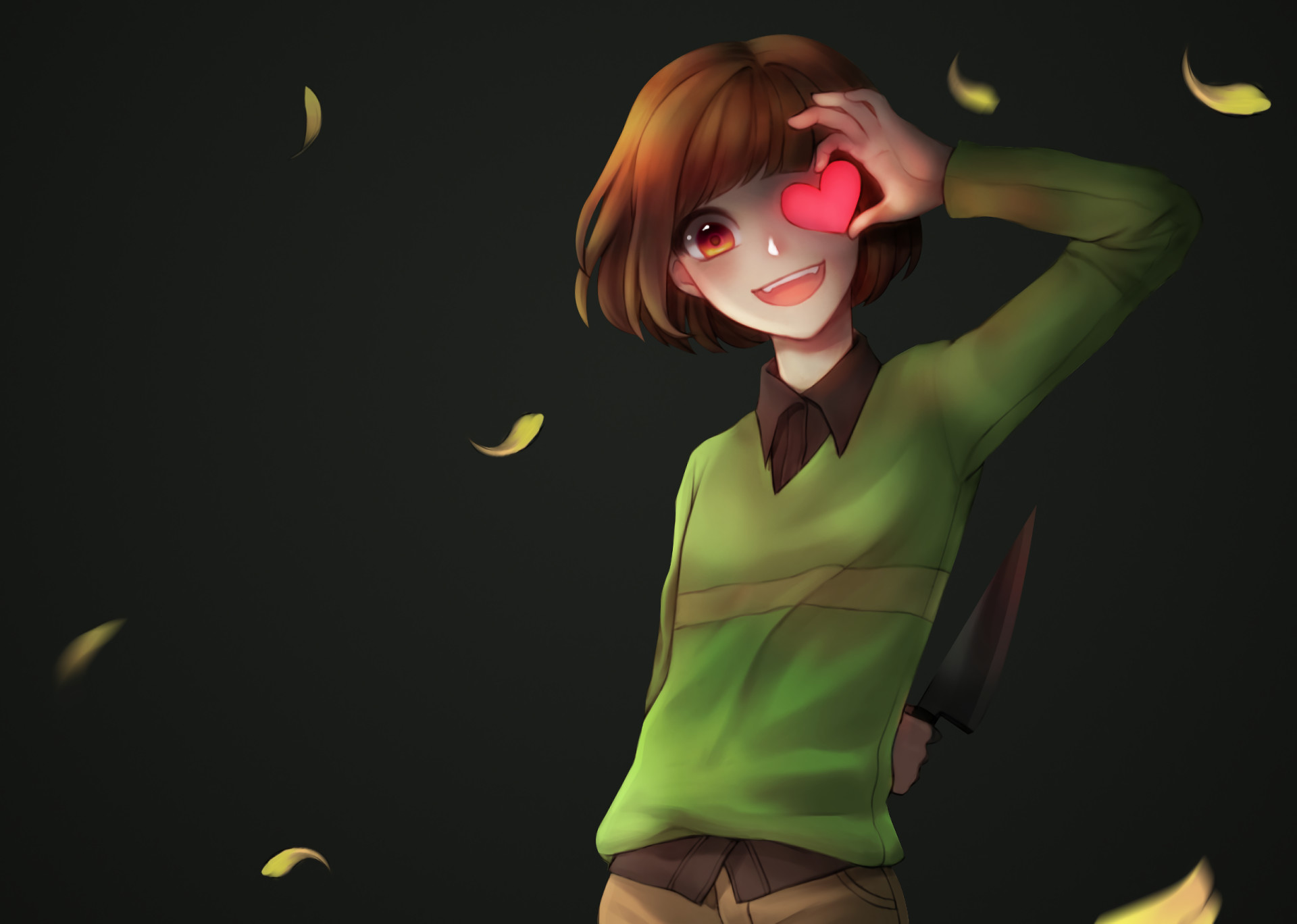Undertale Chara Wallpaper 77 Images