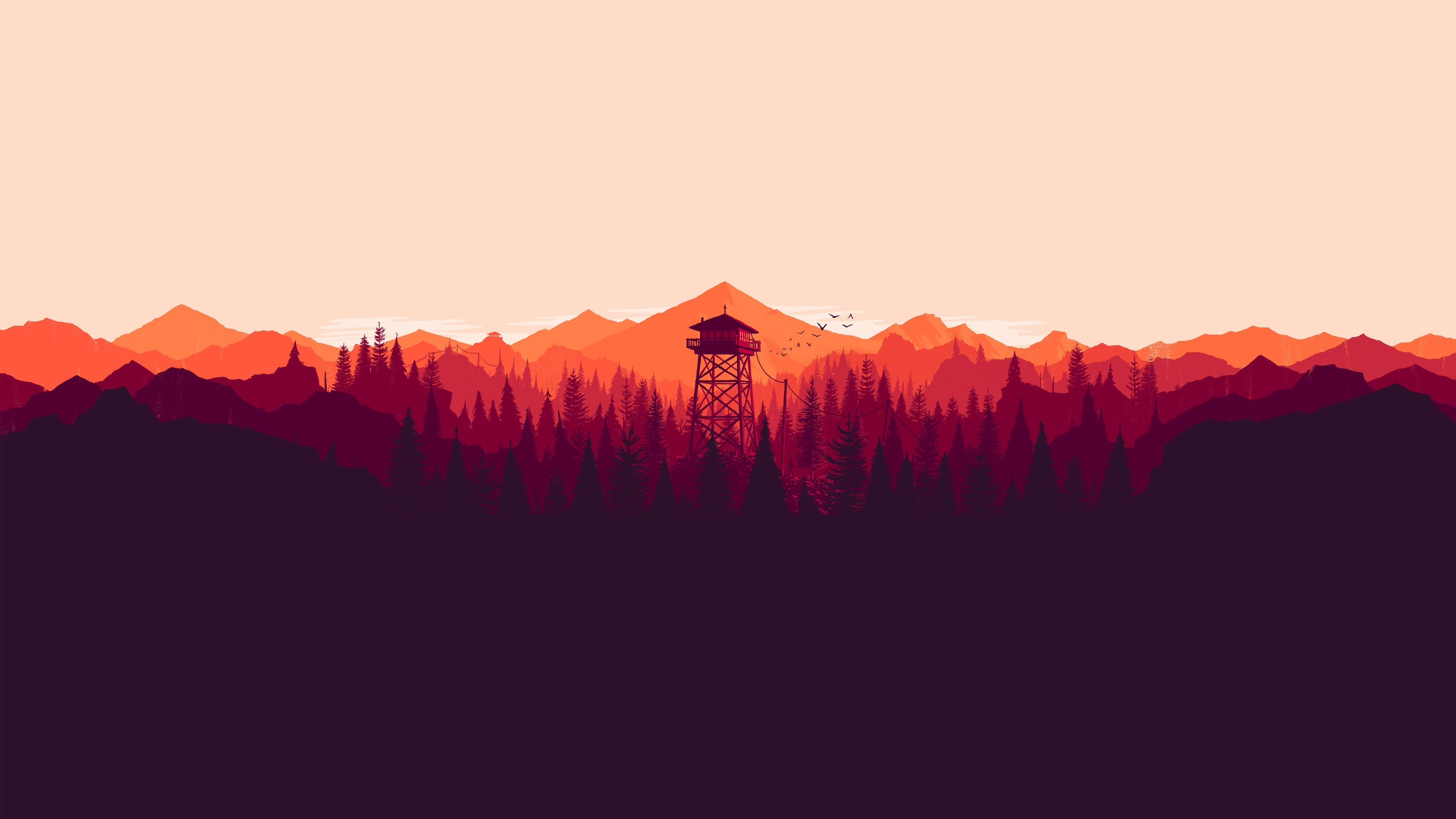 3840x2160 Images Firewatch Free download.