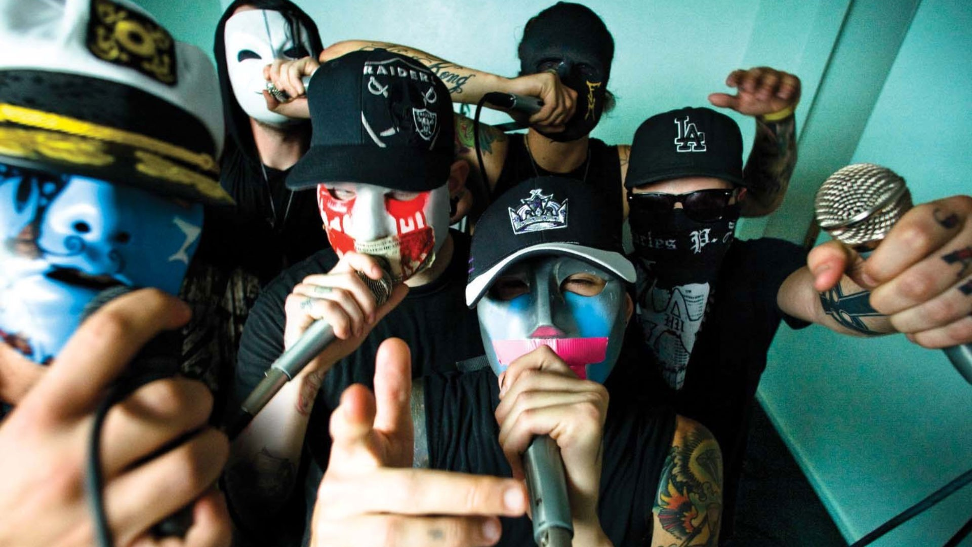 1920x1080 Wallpaper for Iphone: Hollywood Undead