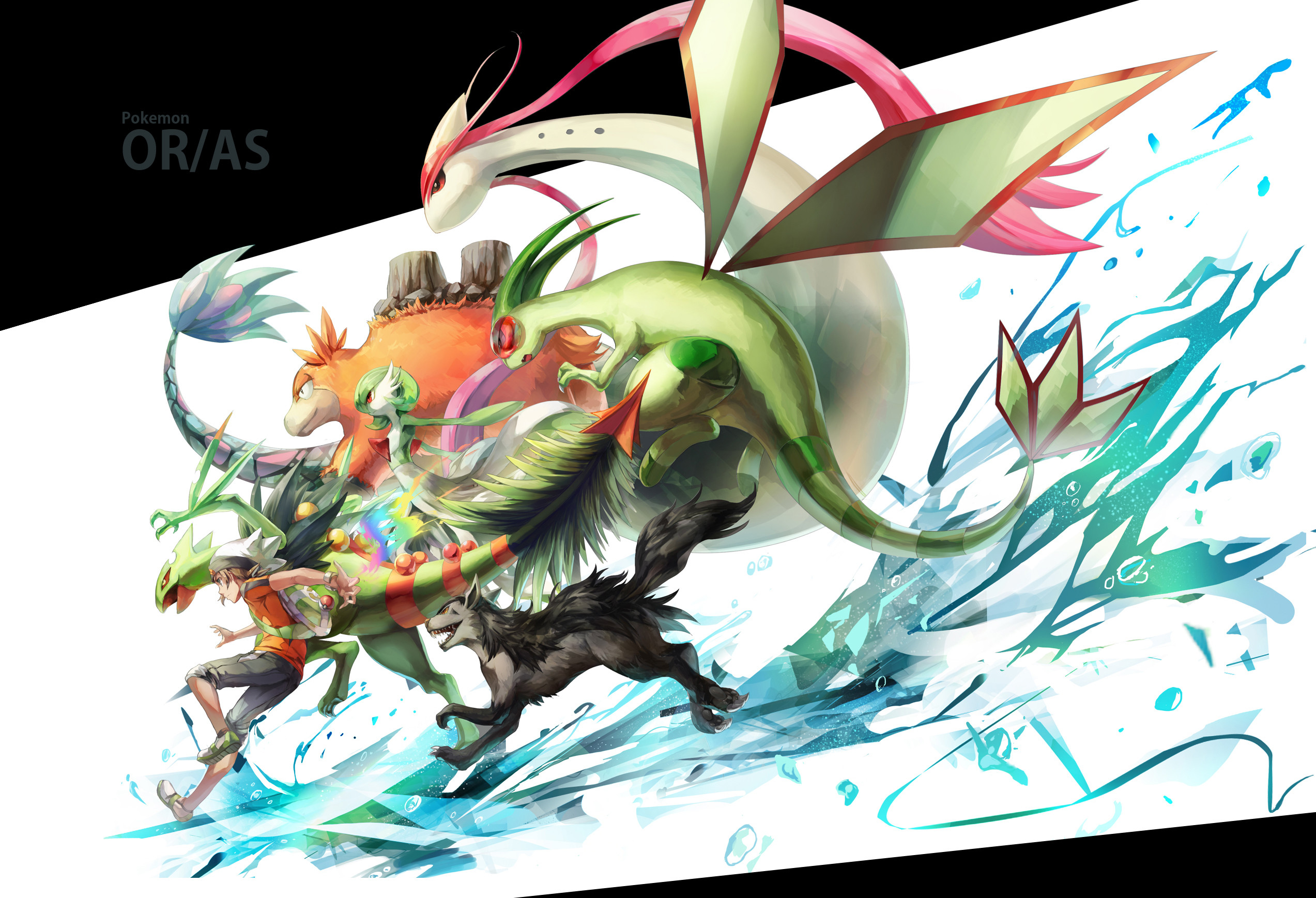 2546x1737 Pokémon: Omega Ruby and Alpha Sapphire HD Wallpaper | Hintergrund |   | ID:589621 - Wallpaper Abyss