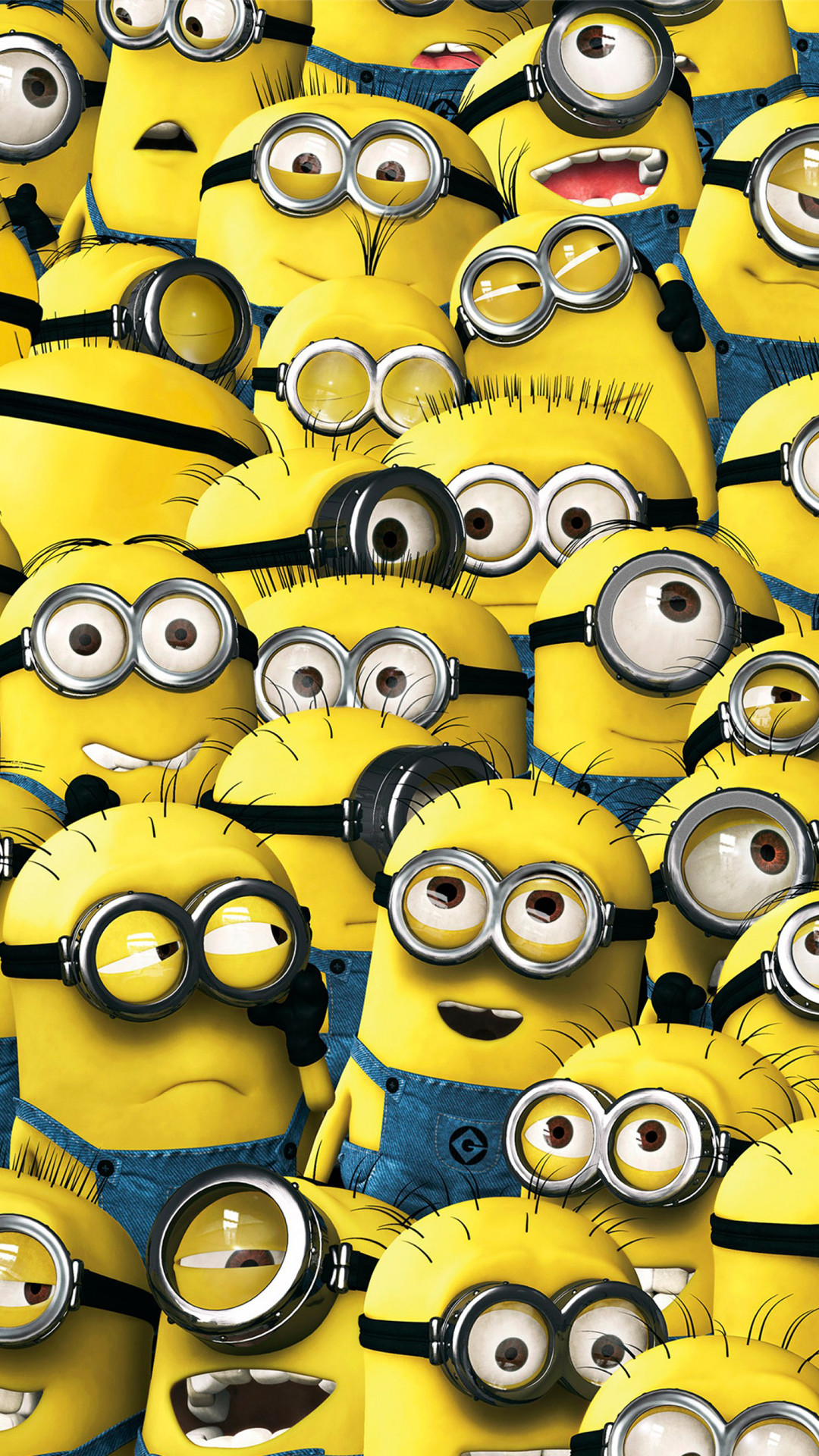 1080x1920 Minions Pattern iPhone Wallpaper HD