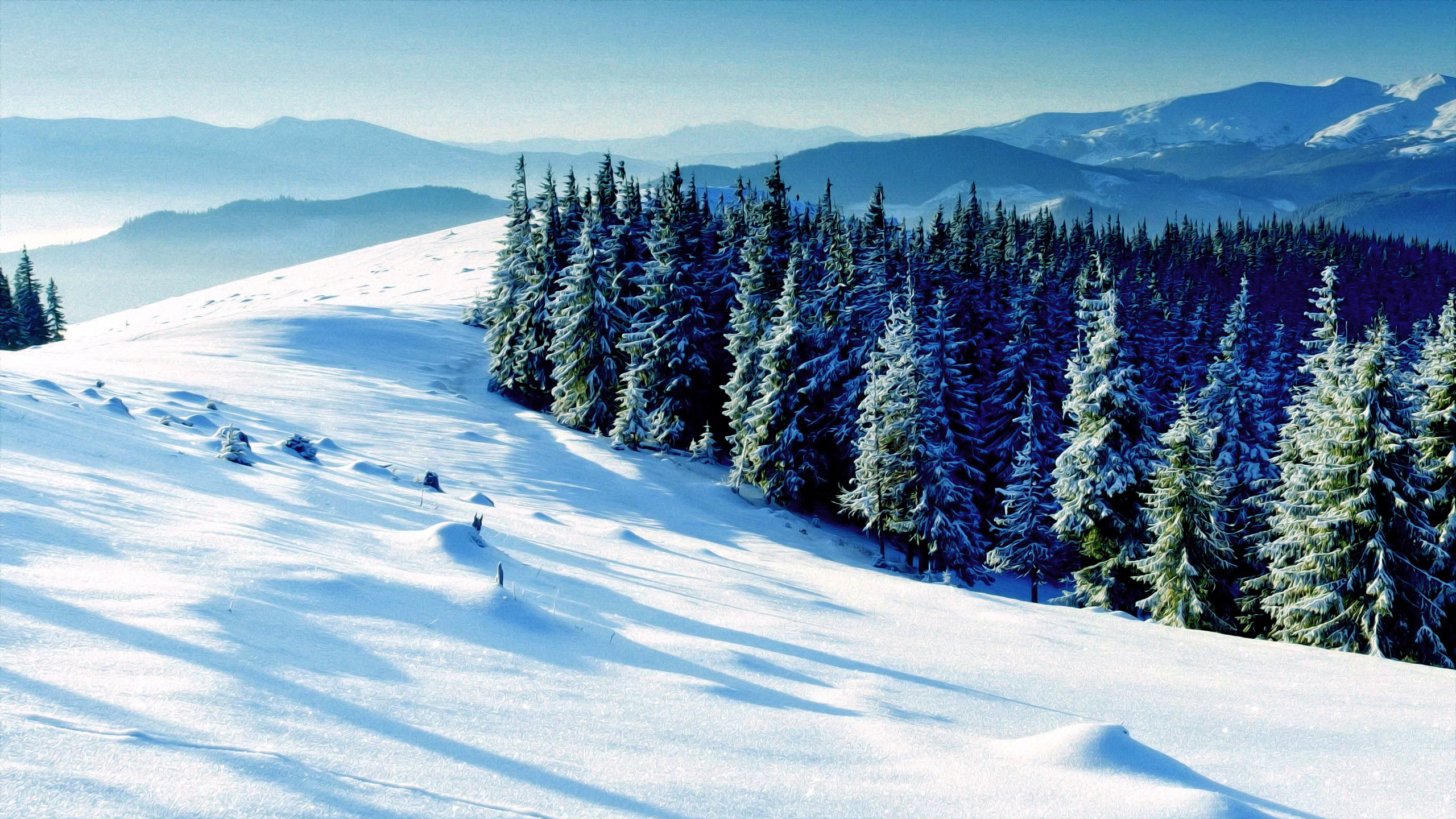 HD Wallpaper Winter Scene (55+ images)