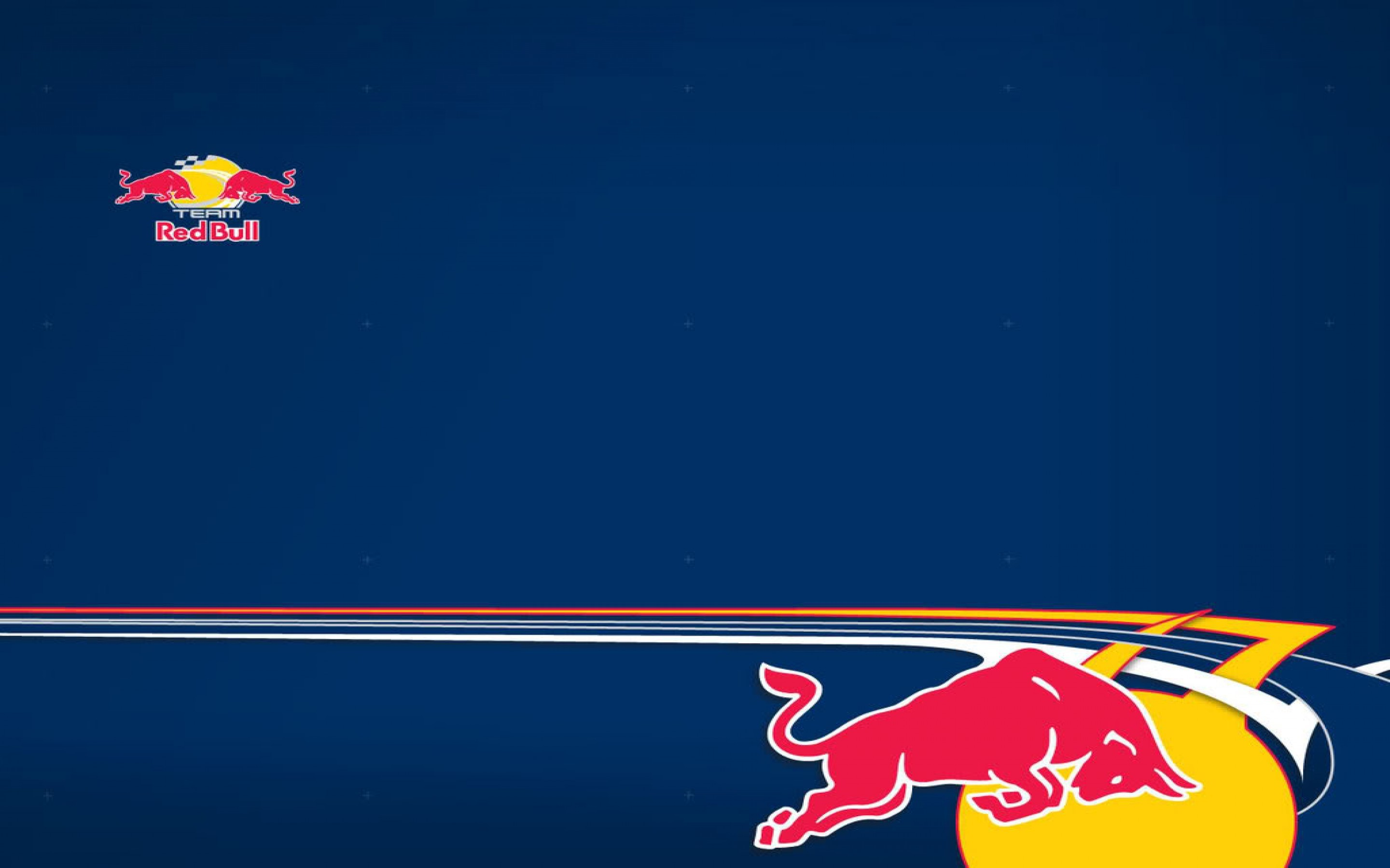 2880x1800 Red Bull Can Logo